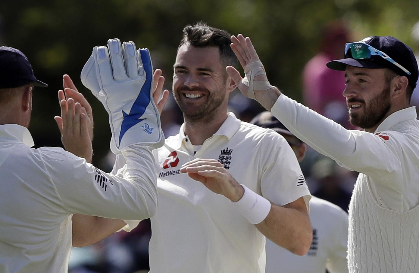 James Anderson is gunning for a world-record in the Fourth Test vs India