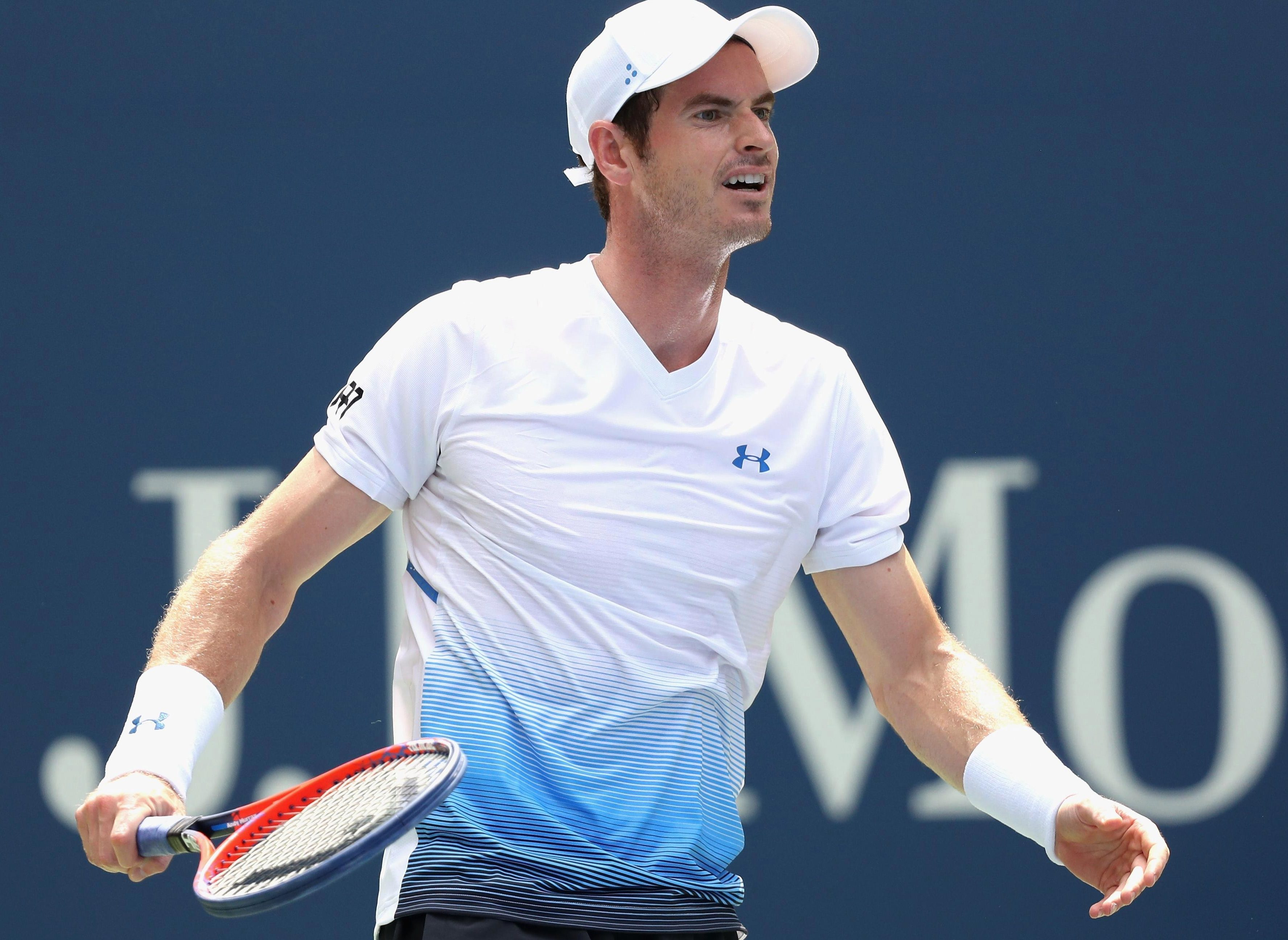 Andy Murray says he was particularly happy to win on a court where he has sometimes struggled