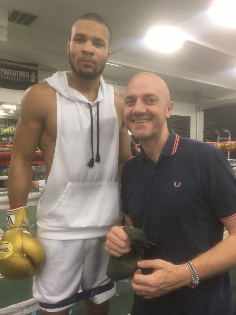 Promoter Mickey Helliet helped his fighters meet Chris Eubank Jr