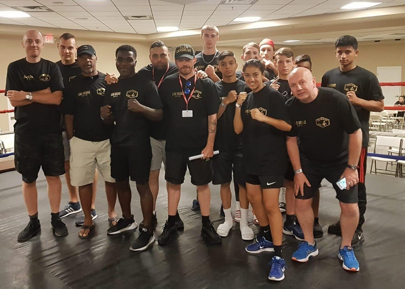 The team were sent from London gyms to take on the best from Las Vegas