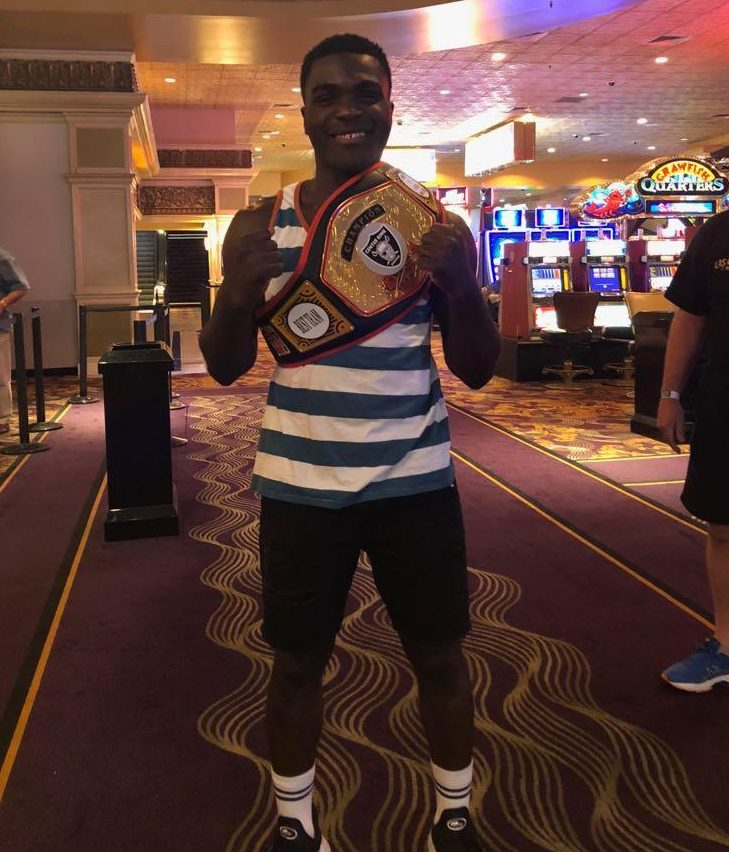 Ola Alausa clinched the London vs Las Vegas title for the UK team