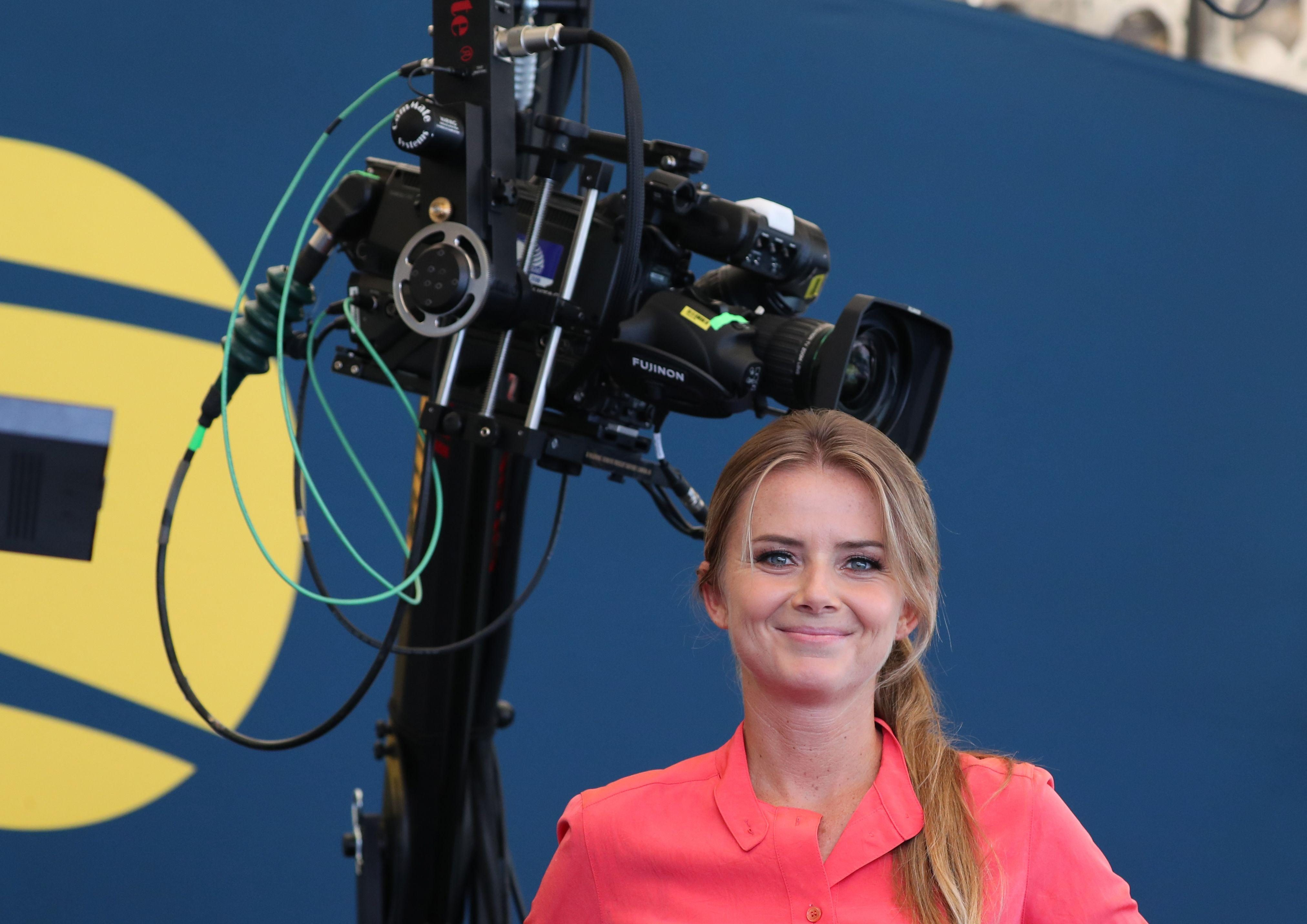 Daniela Hantuchova is one of several hosts and experts on hand for Amazon Prime's coverage
