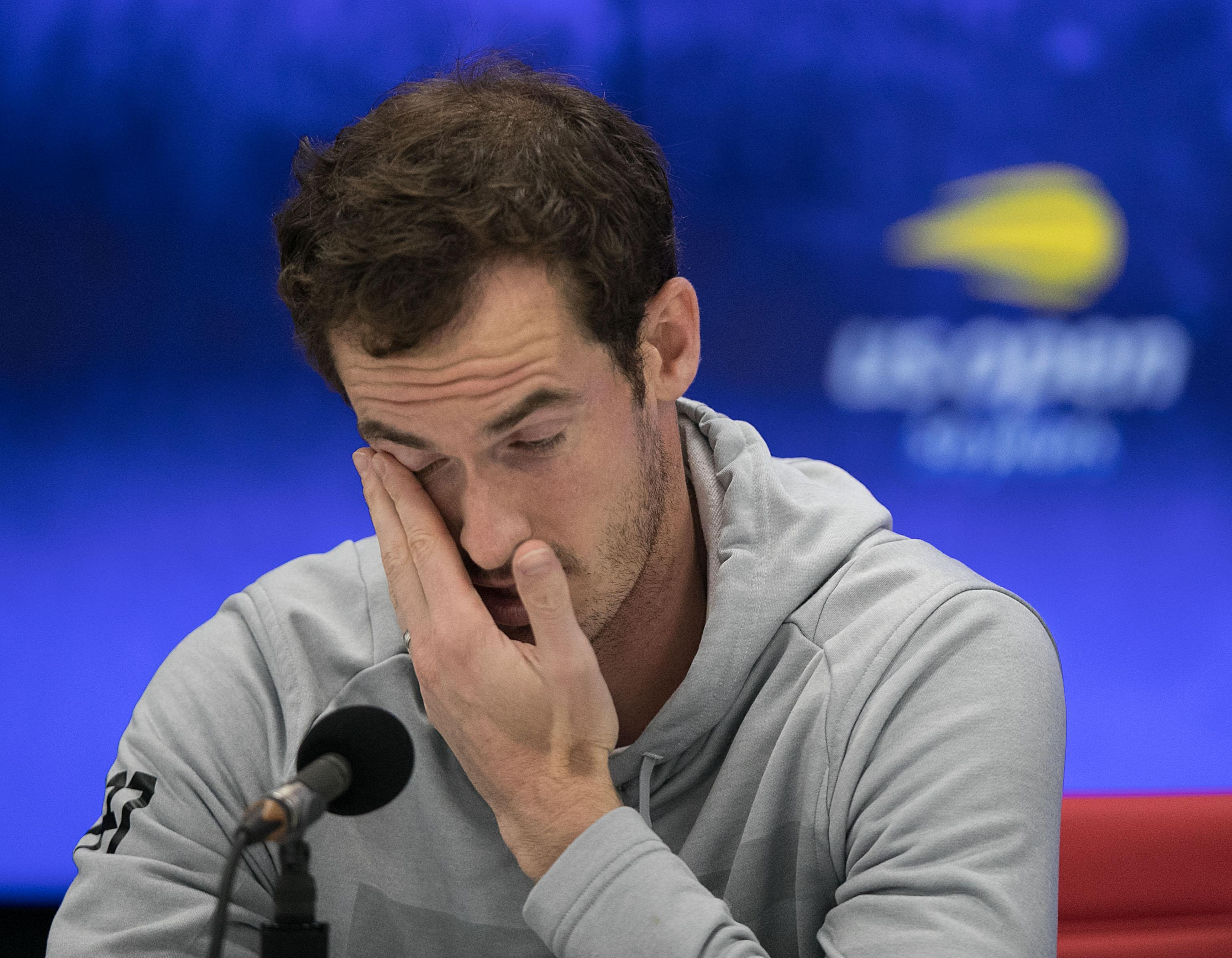 Andy Murray told reporters he had to remind the US Open officials of the rules over coaching
