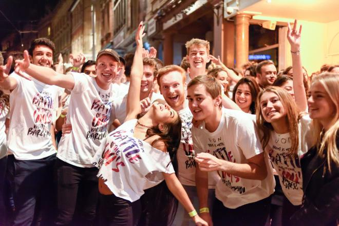 The dates of Freshers' weeks vary but it's usually at the end of September