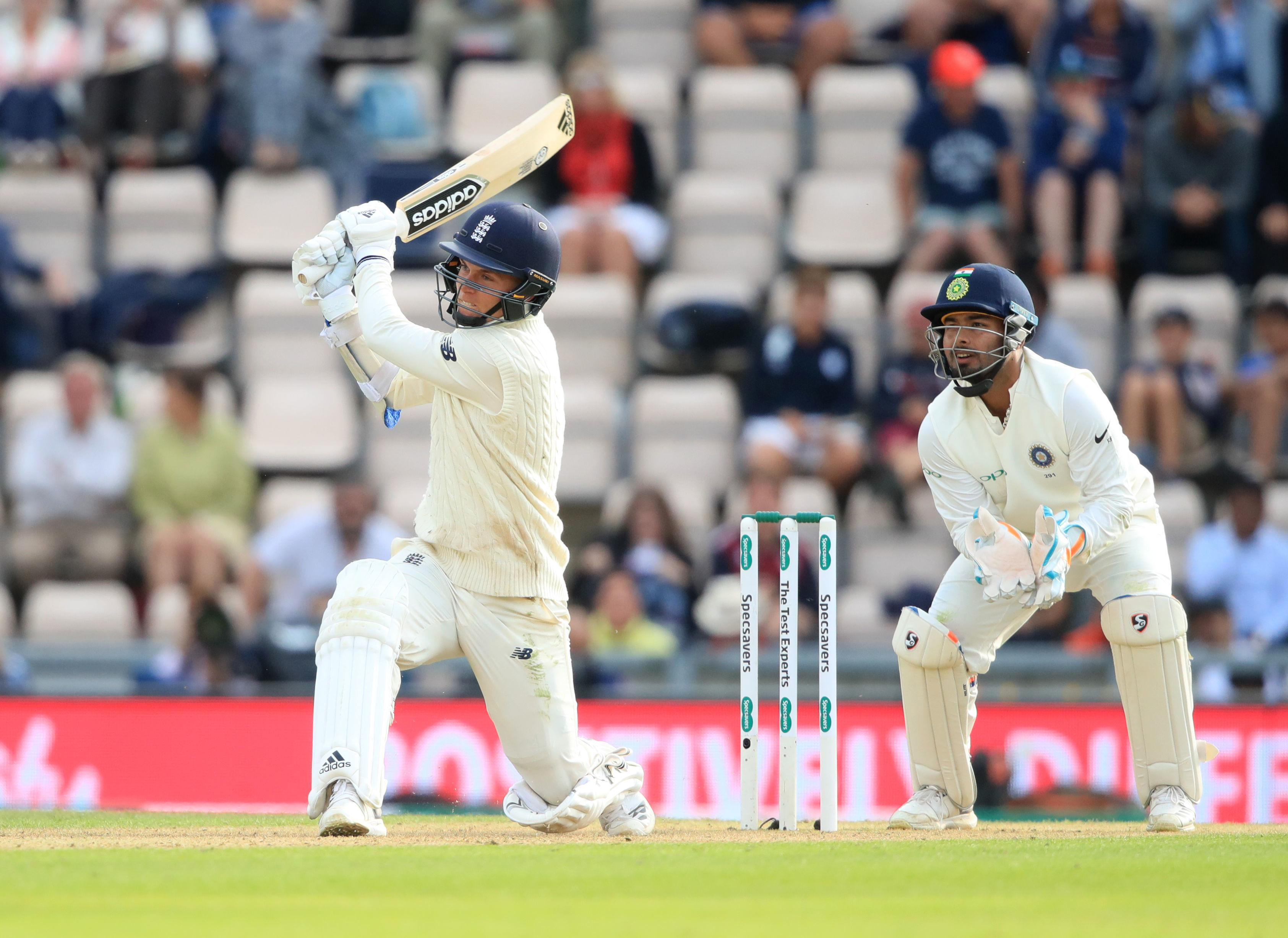 Curran brought up his half-century with a six at the Ageas Bowl