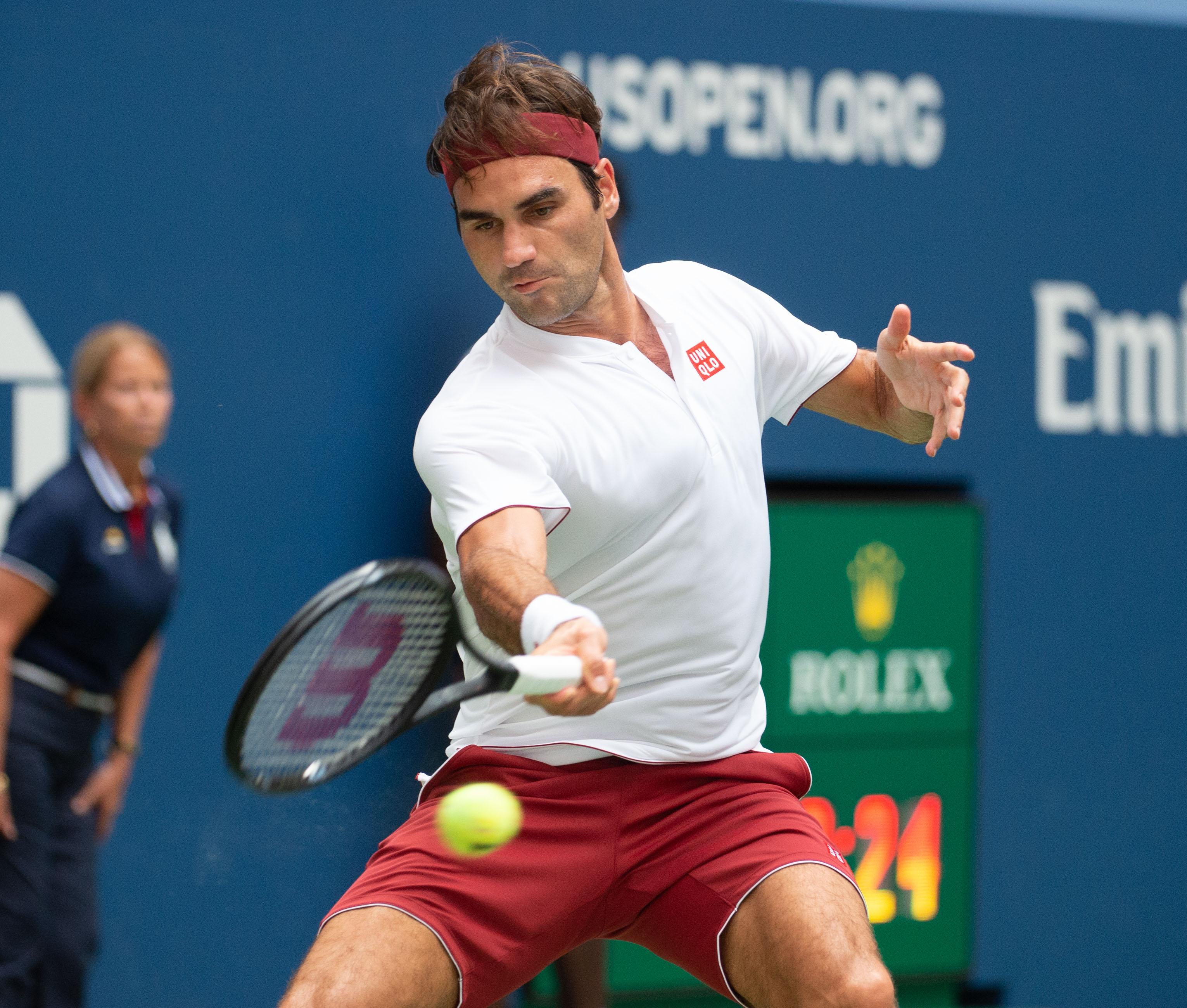 Federer beat Paire 7-5 6-4 6-4 to set up a third-round match with Australian Nick Kyrgios