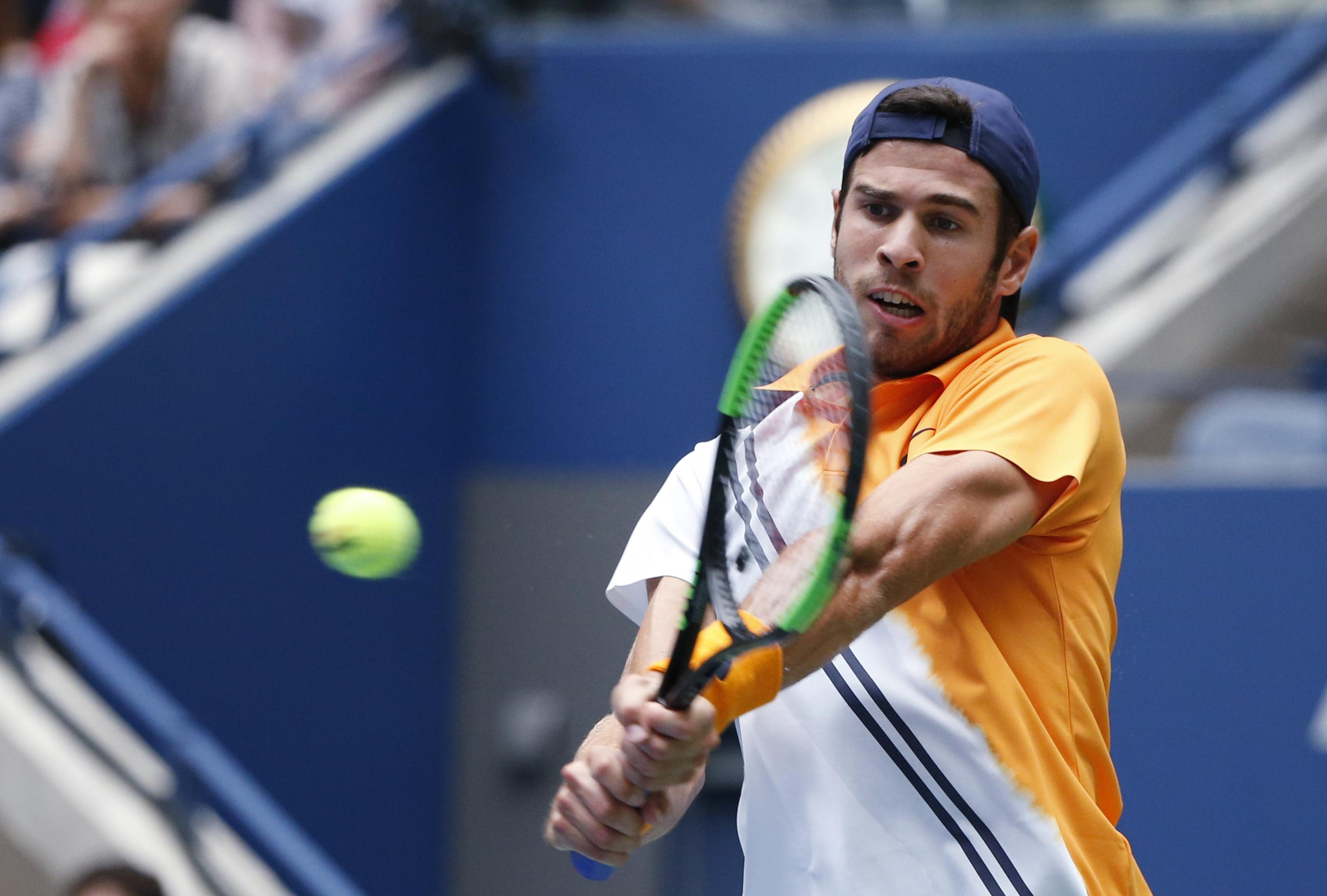 The Russian 27th seed fatigued late on and could not maintain his levels against the 32-year-old