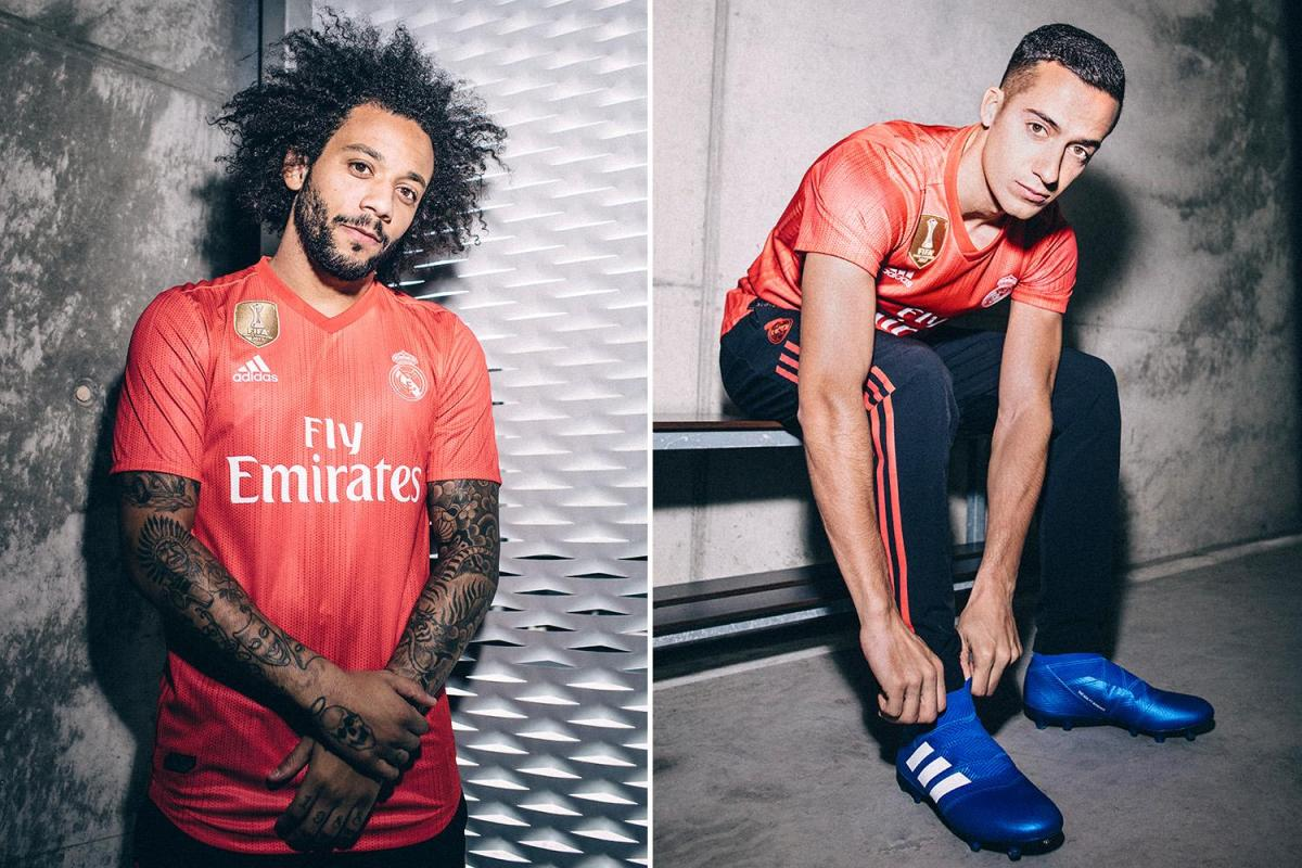 uk availability cc9f4 a461b Real Madrid unveil new 2018-19 third kit made from plastic ...