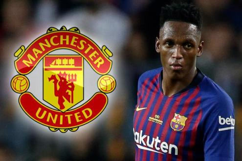 Yerry Mina was one among the names linked with a switch to Old Trafford during the transfer window.