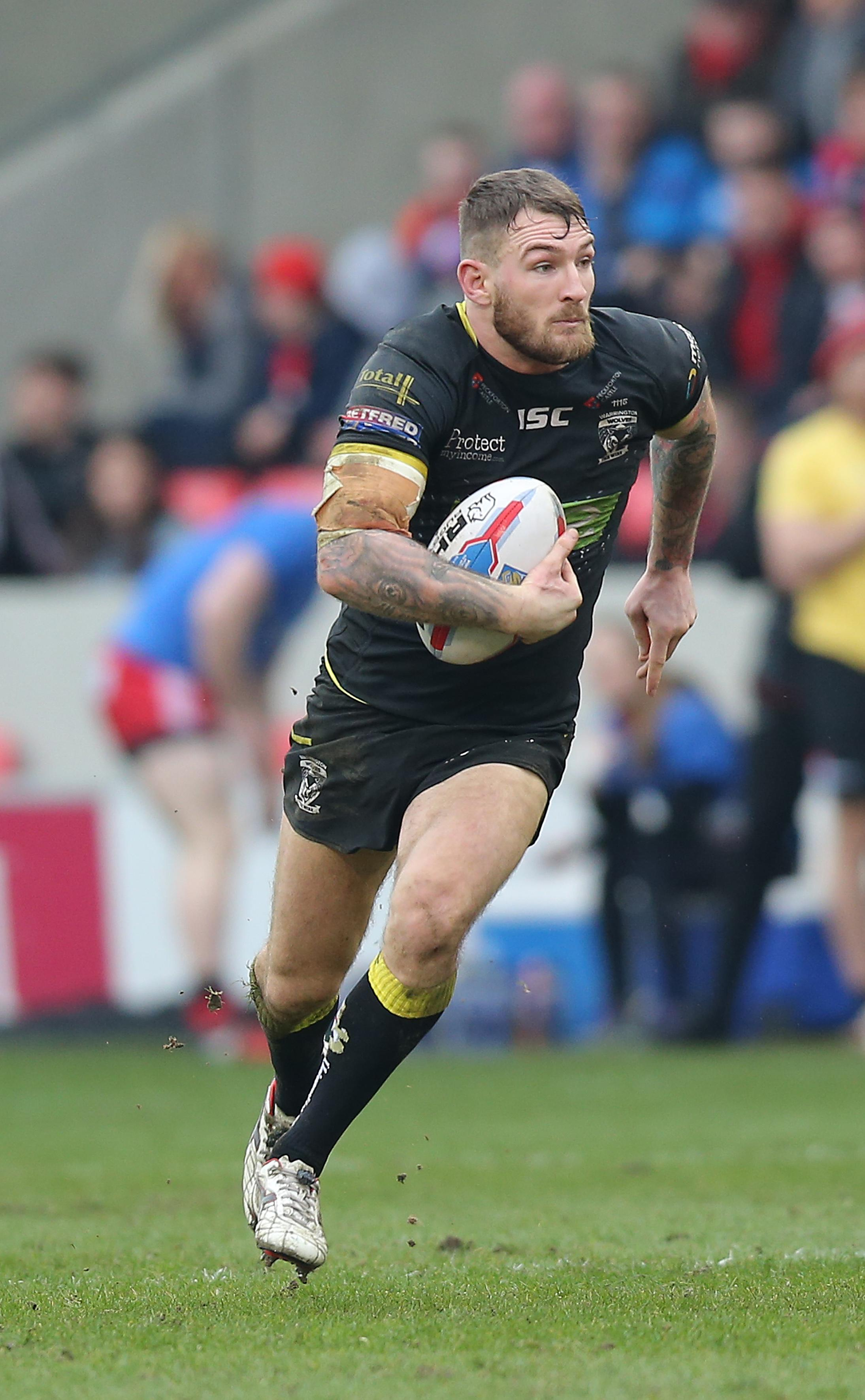 Daryl Clark could be Warrington's biggest threat against his old club