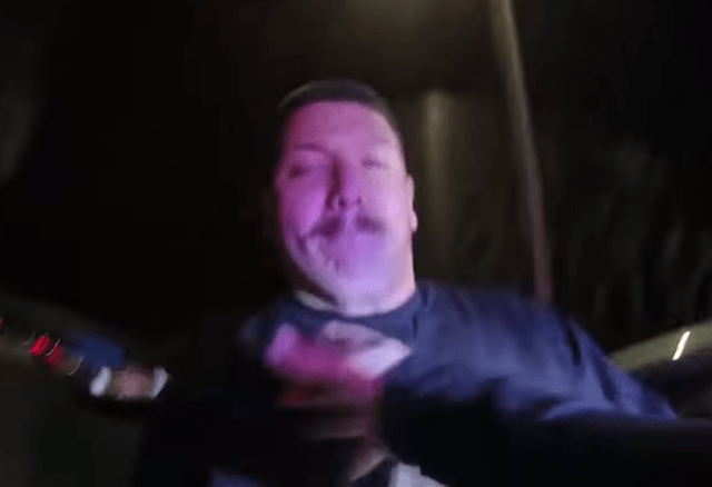 The female cop's bodycam footage showed the moment he opened fire