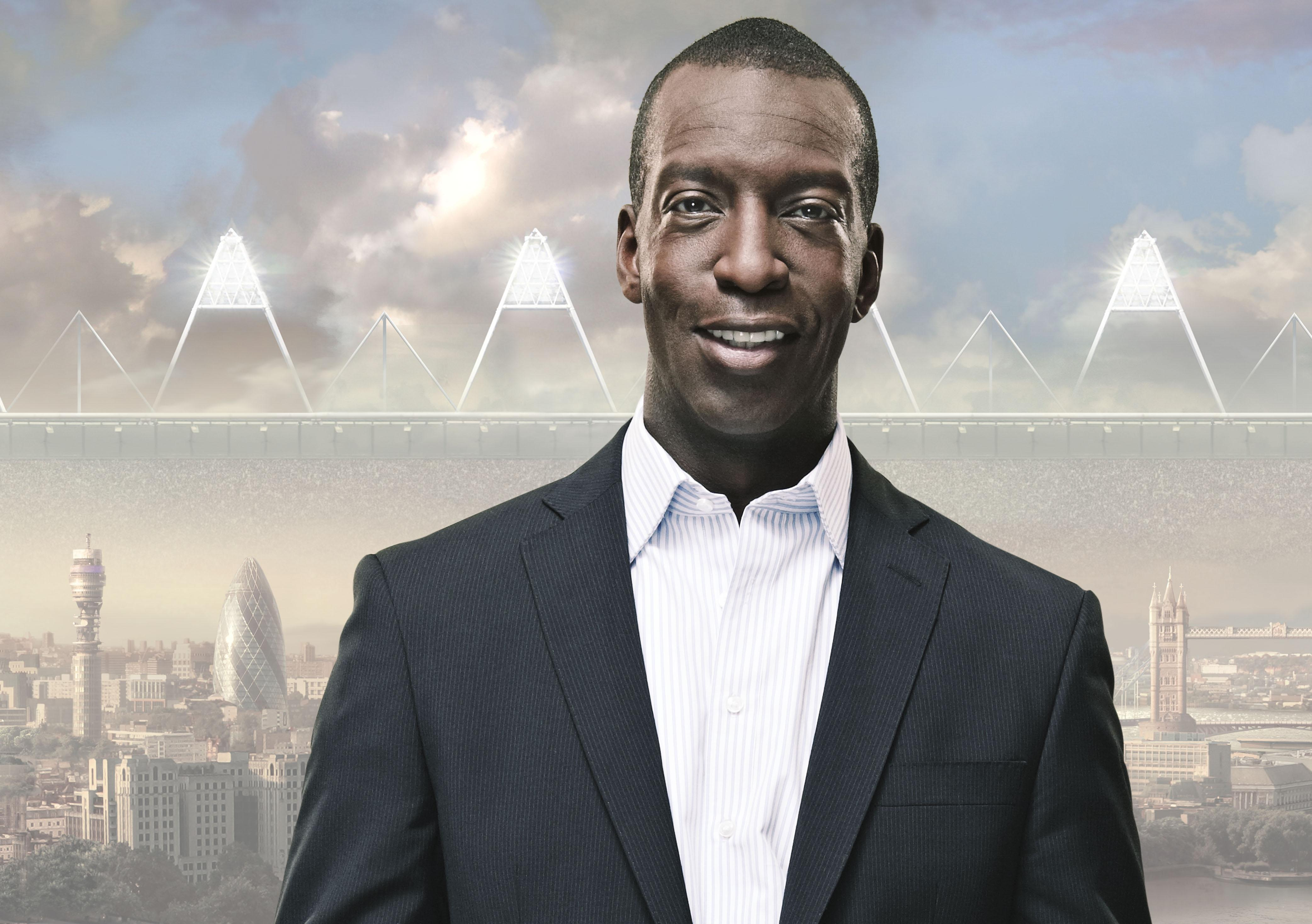 Michael Johnson has revealed he suffered a 'mini'stroke'