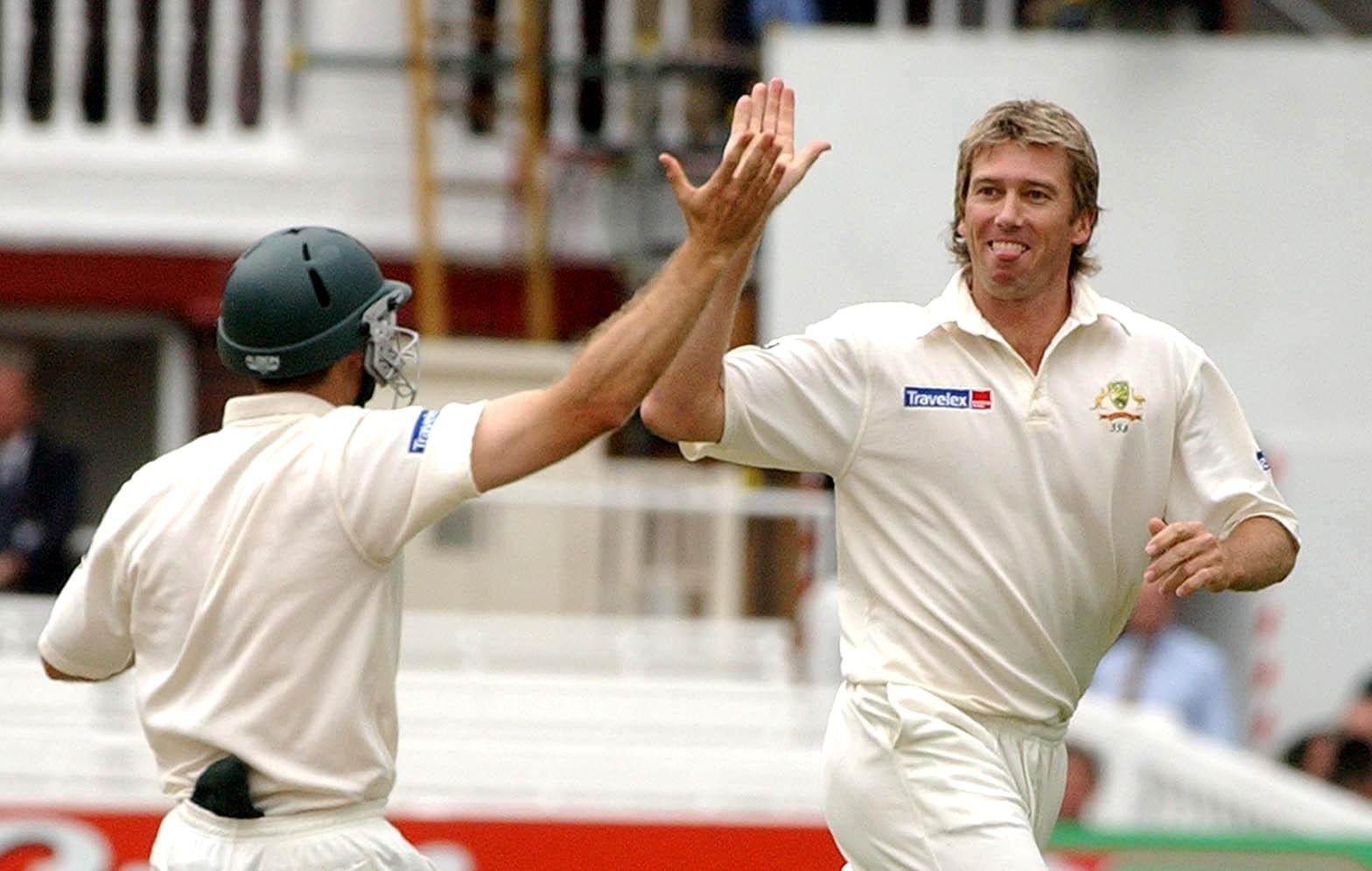 Anderson overtook Australian legend Glenn McGrath with his 564th Test wicket against India