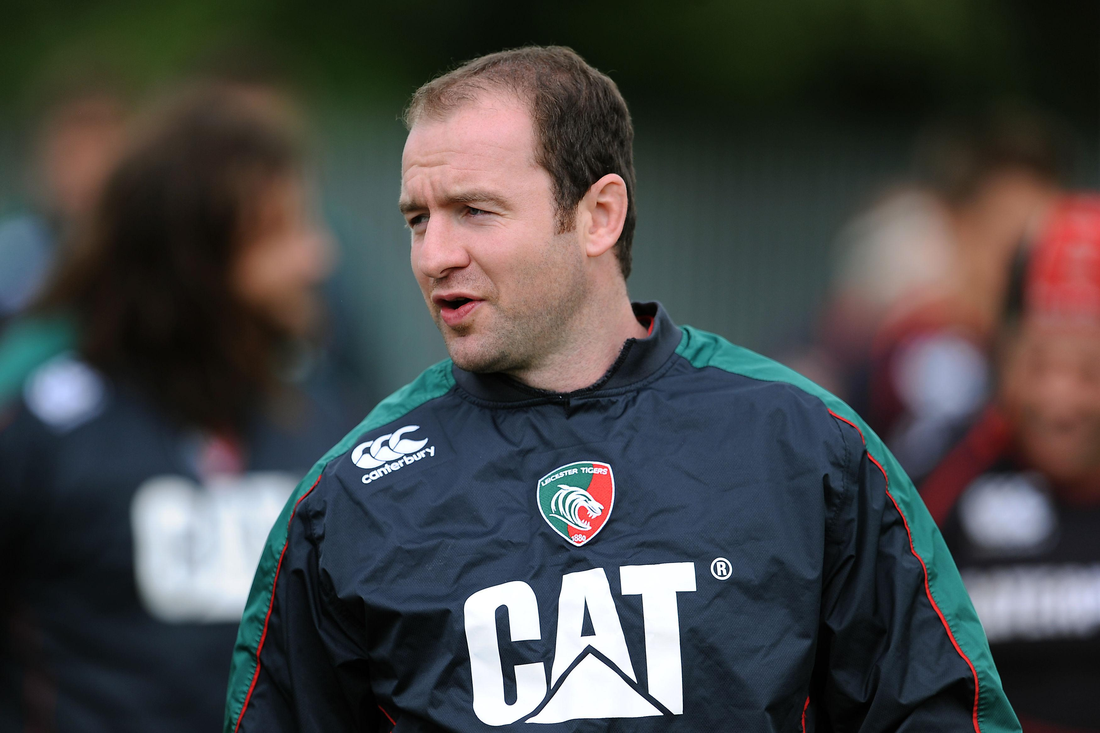 Geordan Murphy now takes over the reins as interim coach at Leicester Tigers