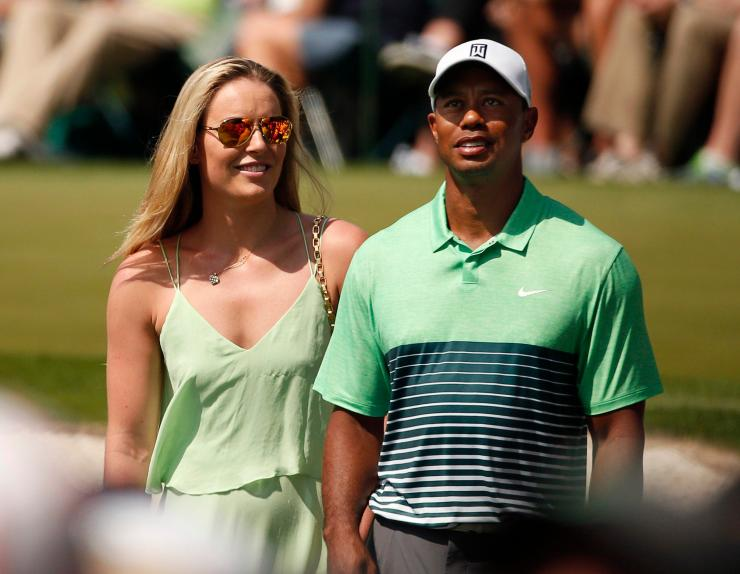 Skier Lindsay Vonn is among Tiger's many ex-girlfriends