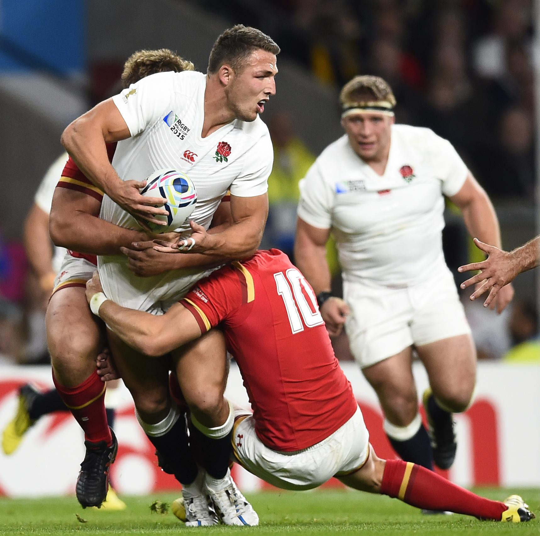 Burgess swapped codes and played rugby union for England in the 2015 World Cup