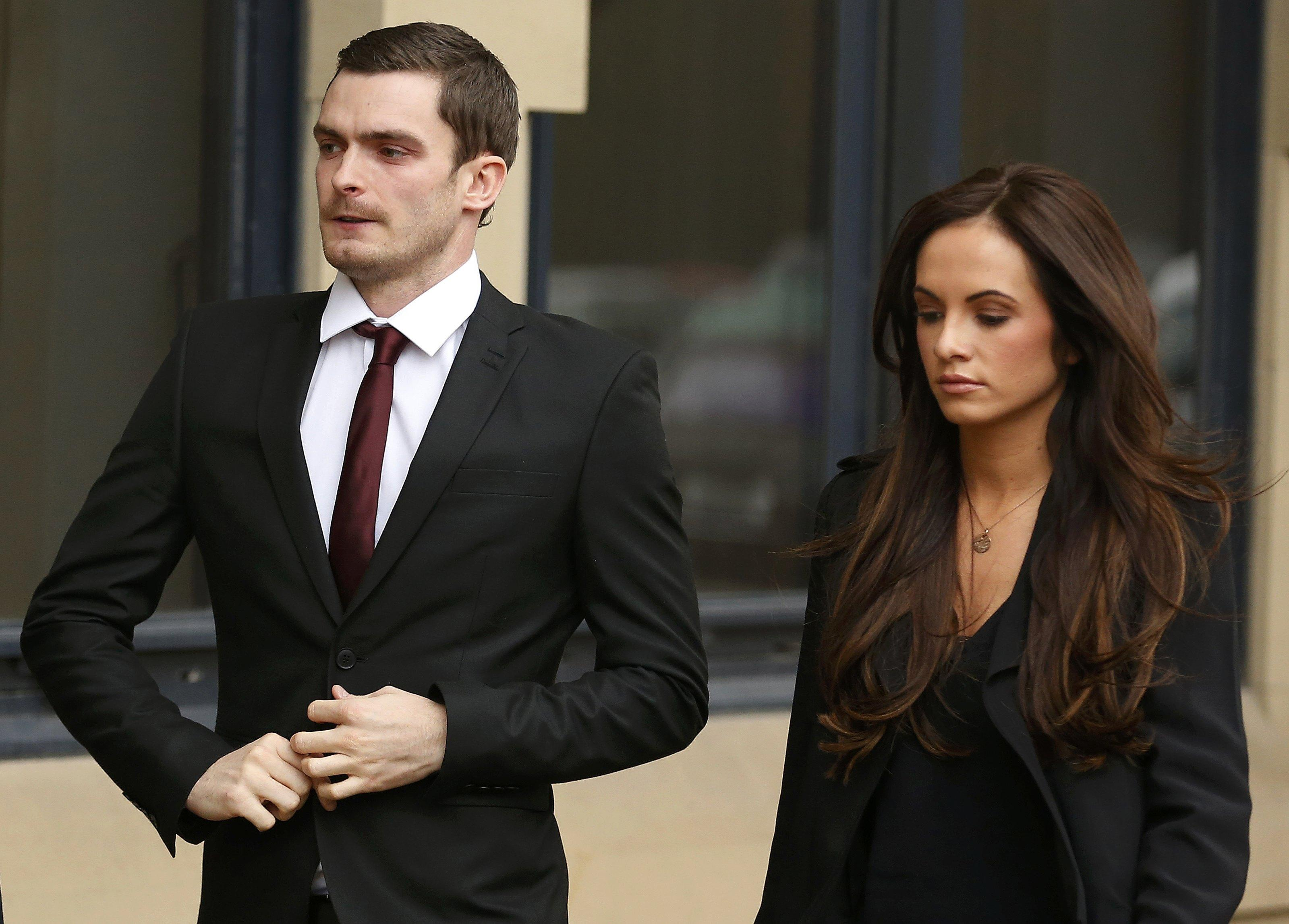 Arriving at court with his former girlfriend Stacey Flounders, Mr Johnson pleaded guilty to one count of sexual activity with a child