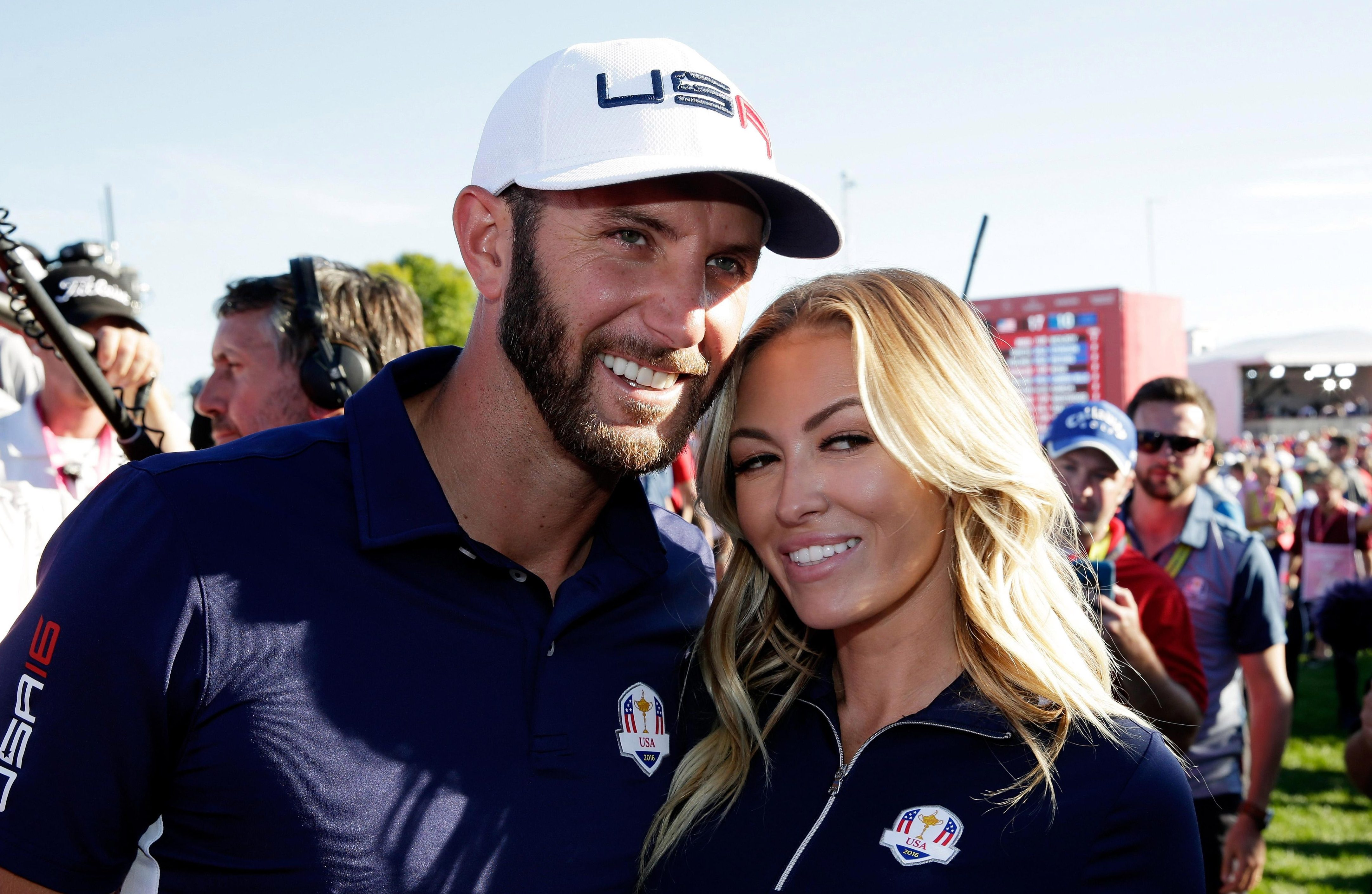 Johnson and Gretzky were the superstar couple at the last Ryder Cup in 2016