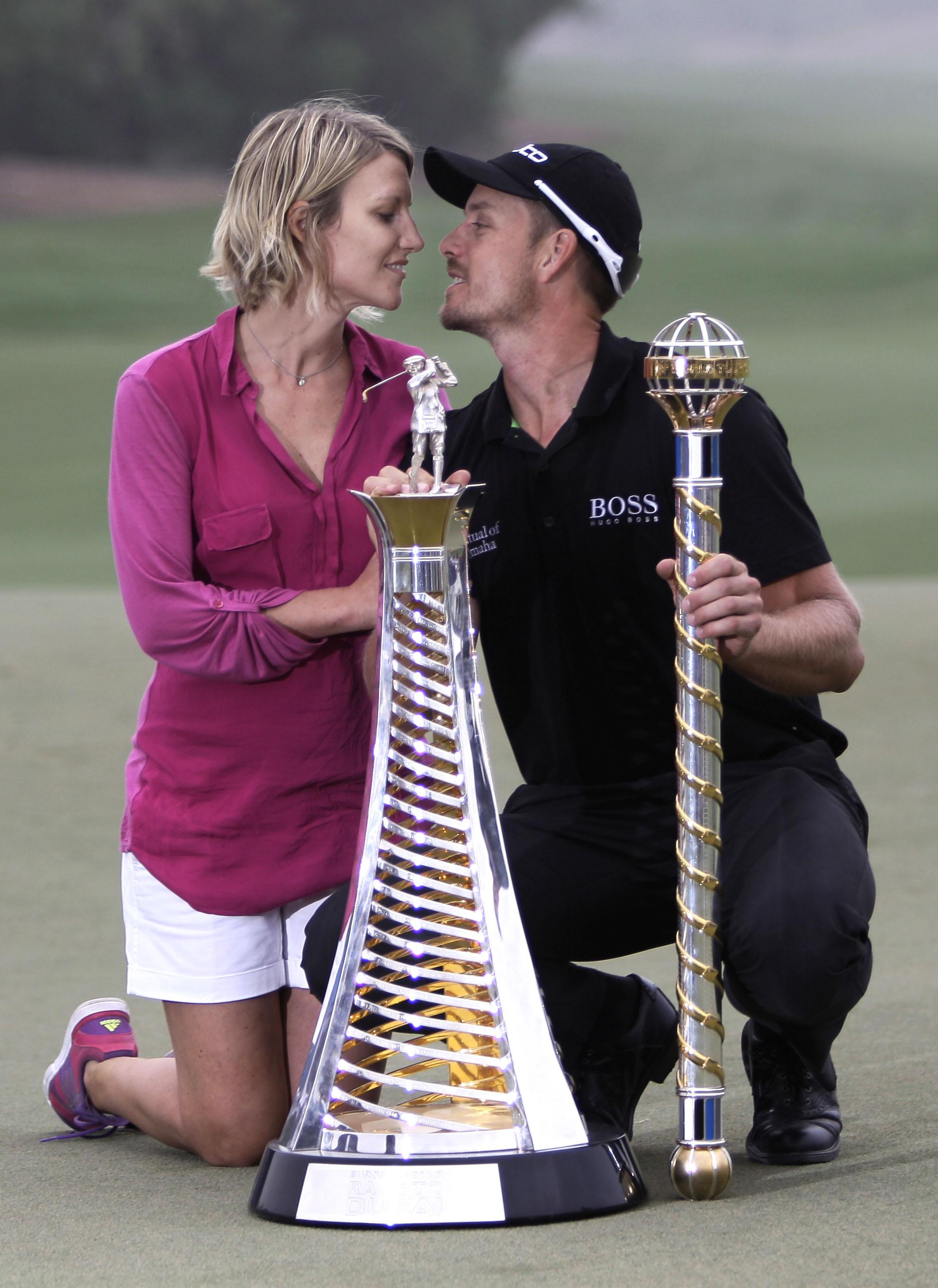 The Swedish pair met through their mutual love for golf