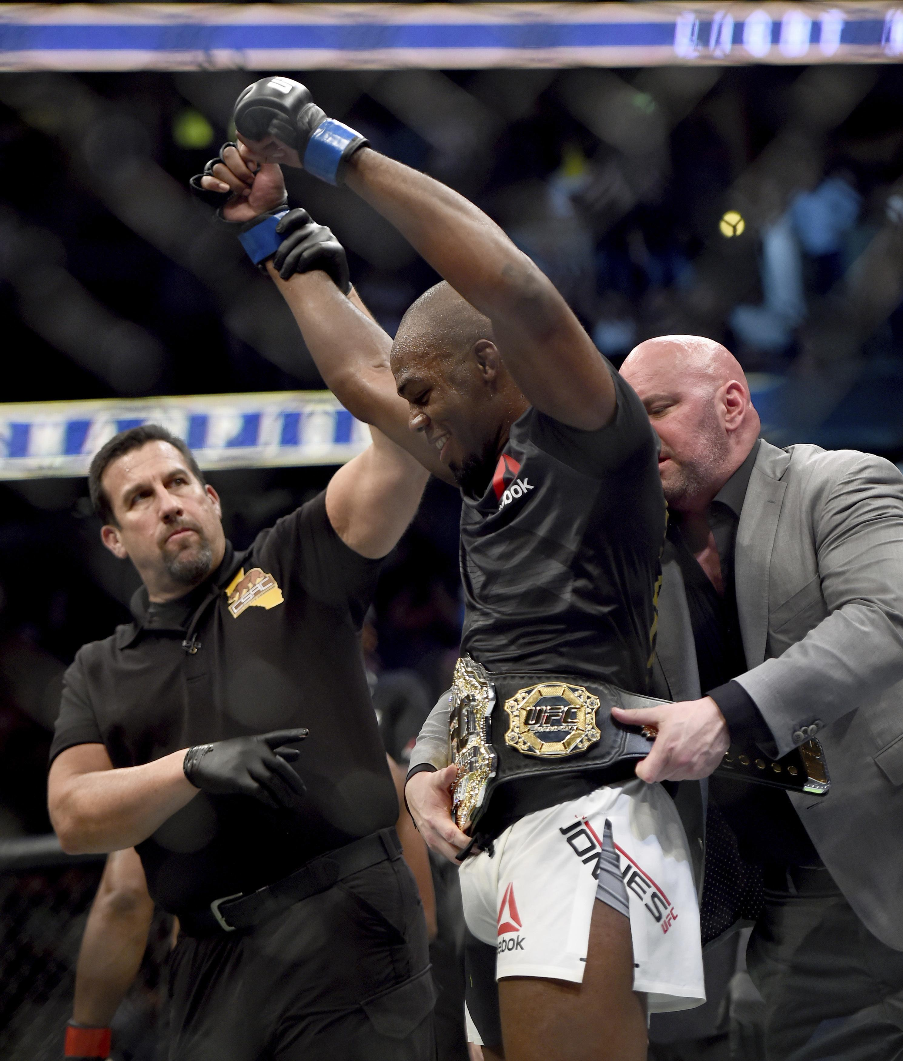 Jon Jones is now clear to return for UFC 230 at Madison Square Garden in November