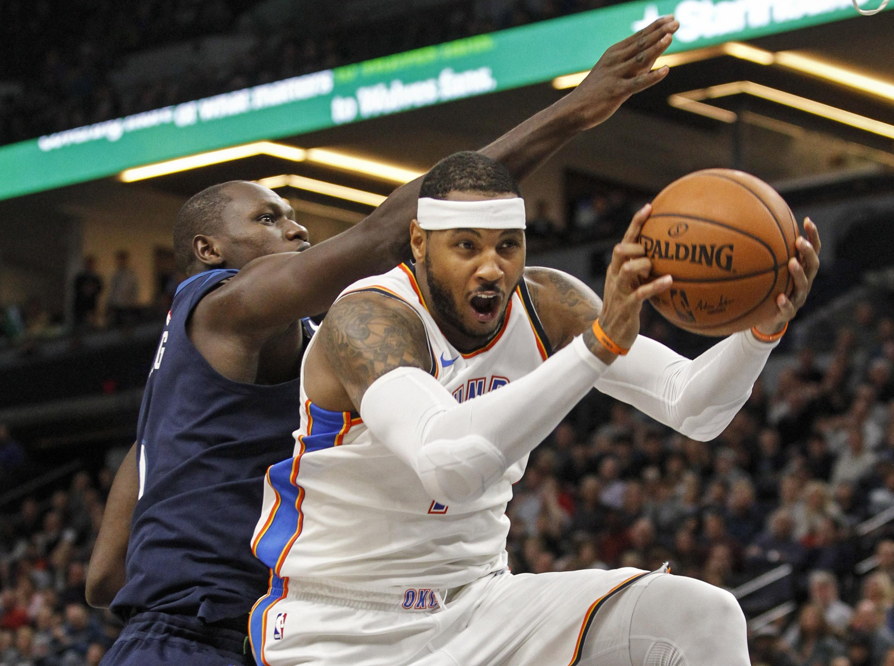 Carmelo Anthony moved to the Houston Rockets - the team who almost eliminated the Warriors in the play-offs last season