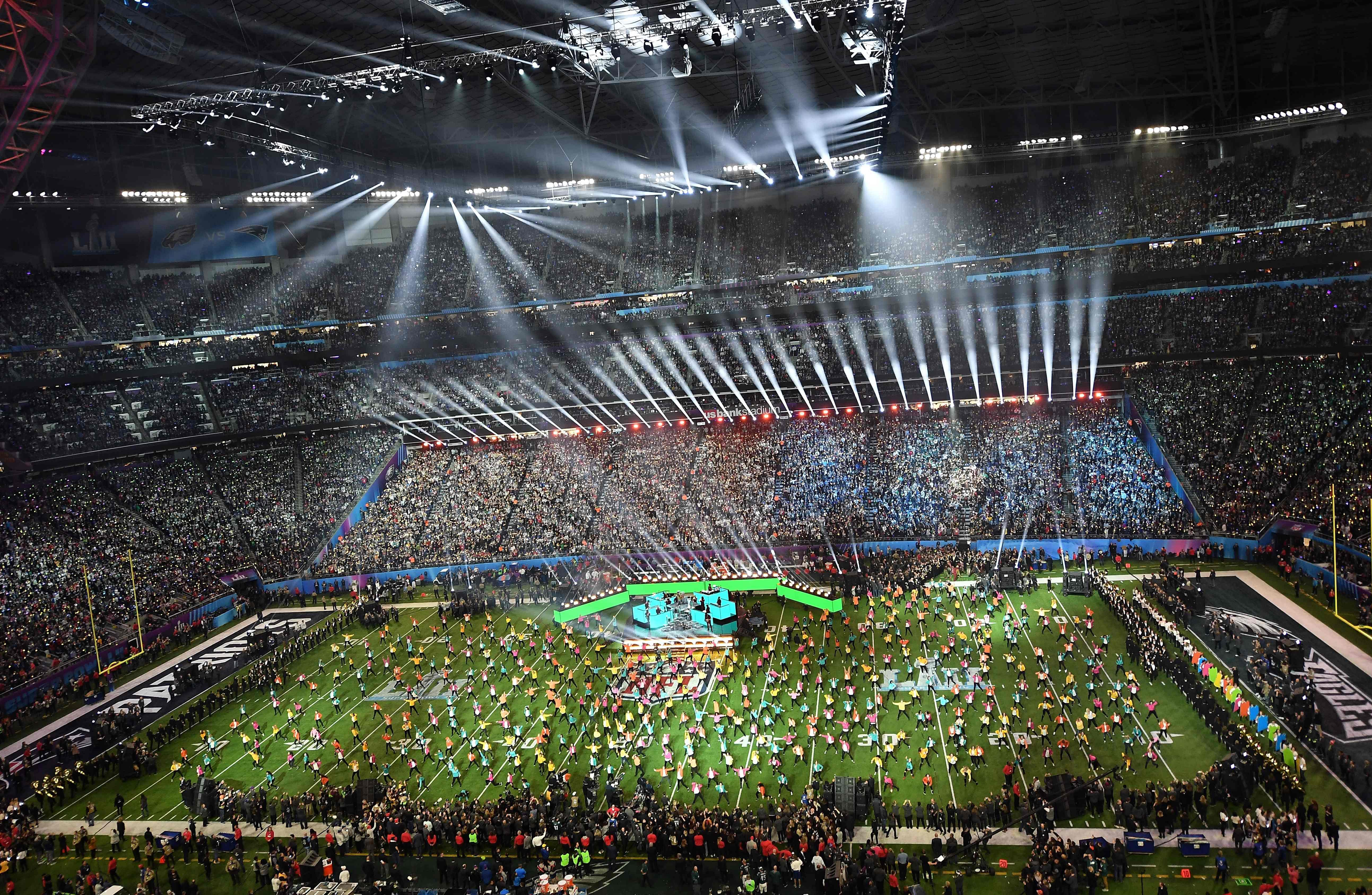 The Super Bowl half-time is one of the biggest gigs for performers