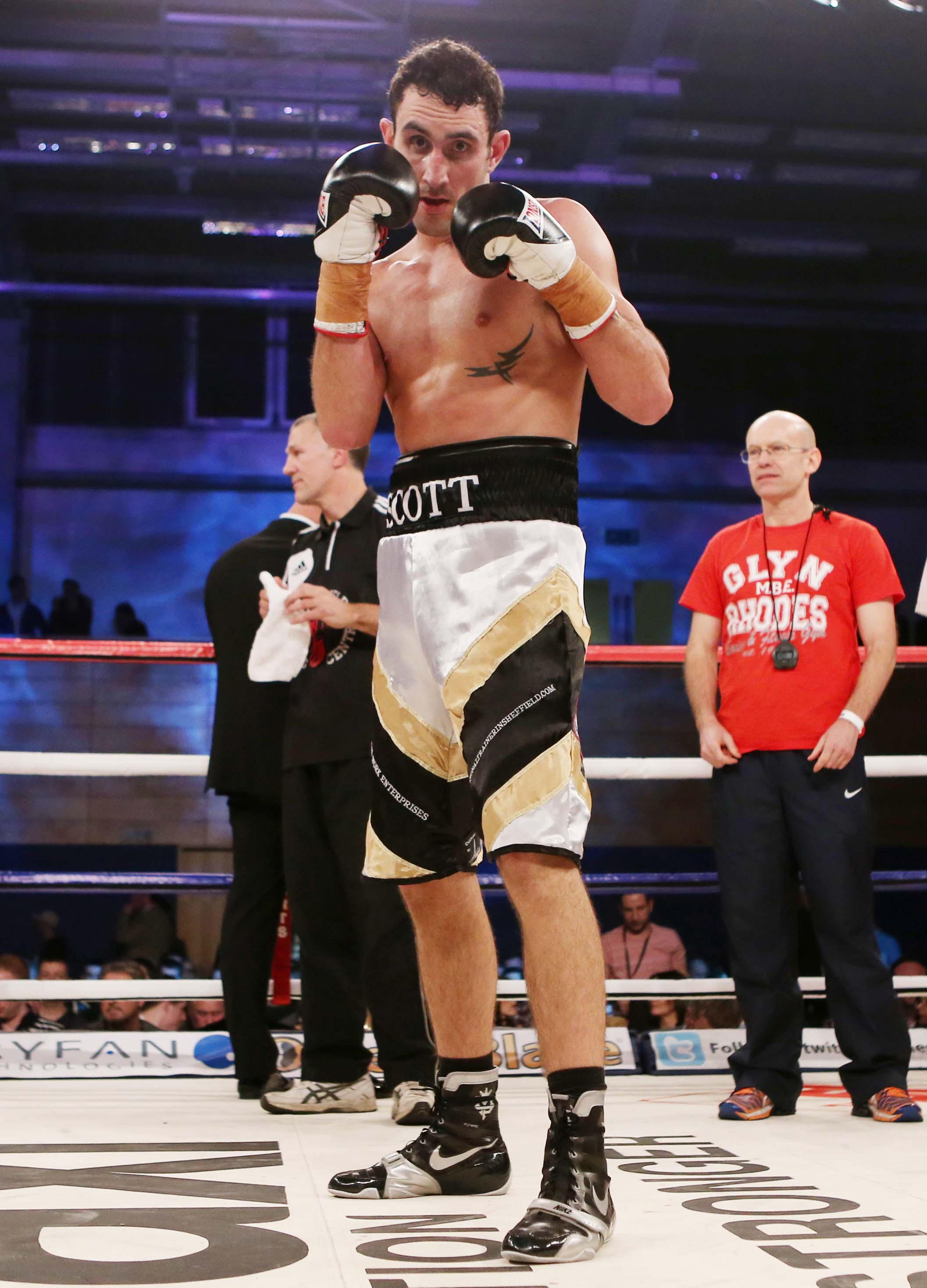 Scott Westgarth will be remembered through Dec Spelman's promising fight career