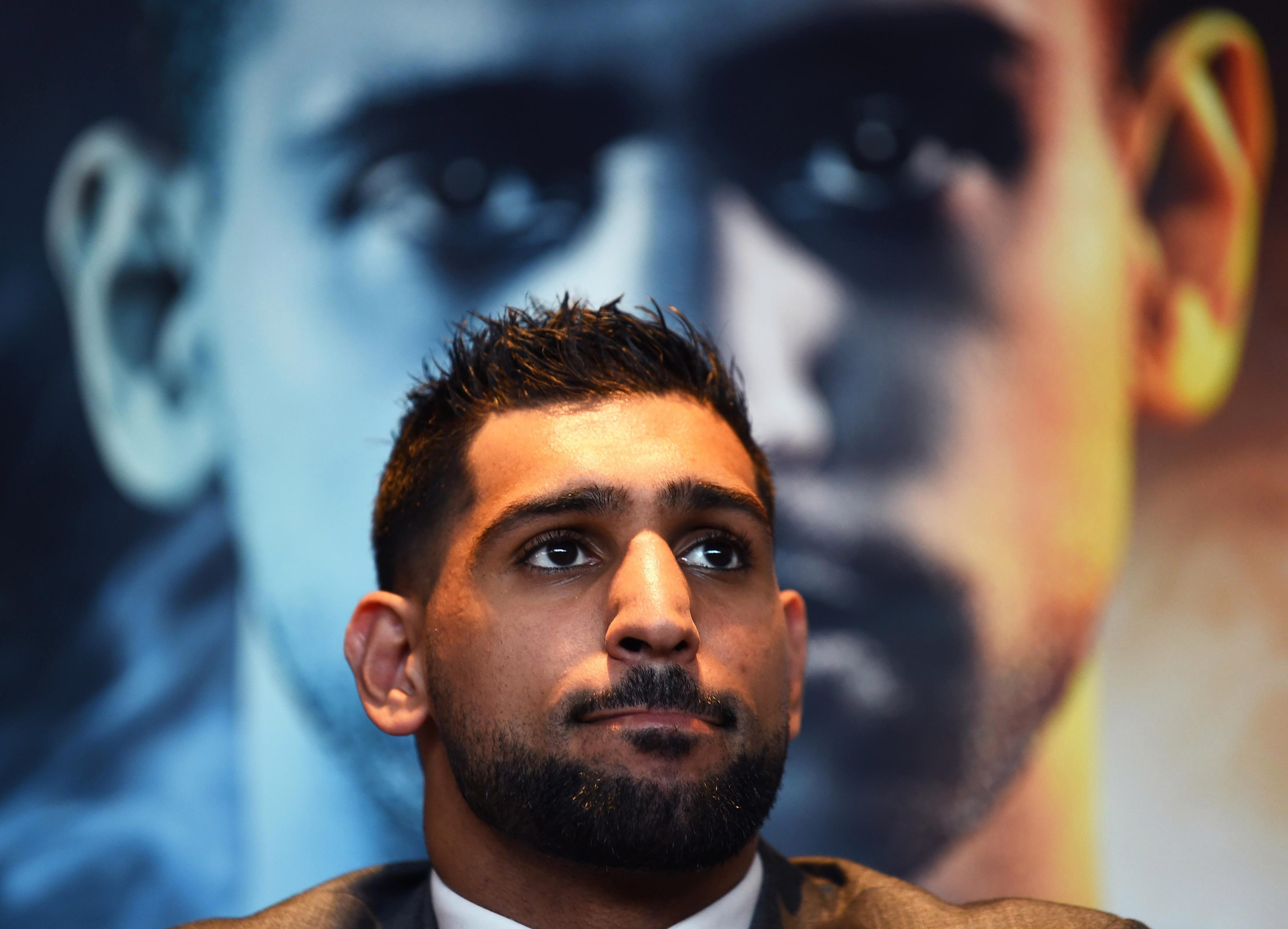 Amir Khan says it is a step up facing Samuel Vargas but thinks he is a class above