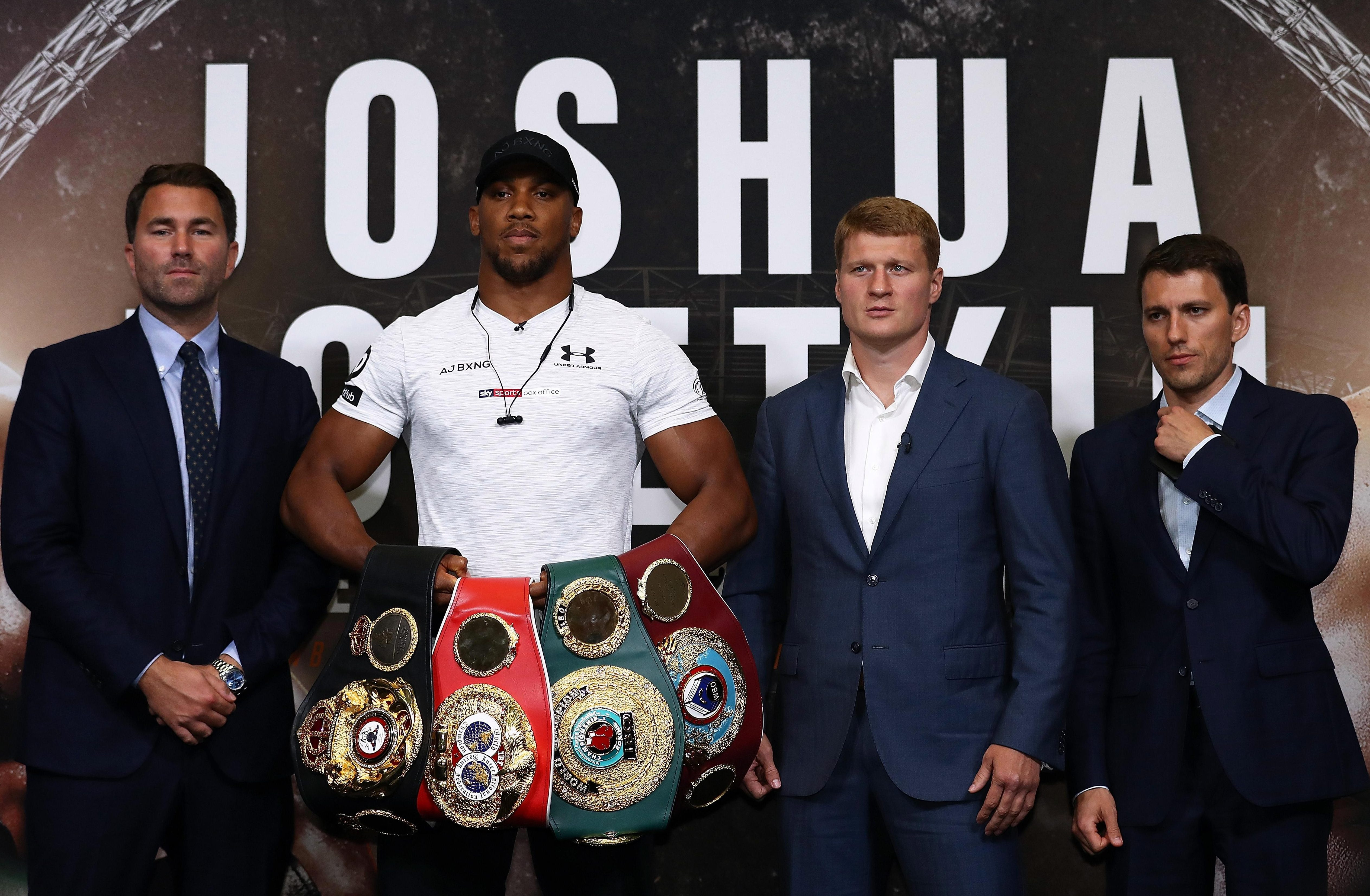 Anthony Joshua remains unbeaten heading into his mandatory fight with Alexander Povetkin, but could be overshadowed by Deontay Wilder and Tyson Fury