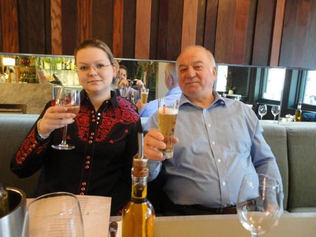 Sergei and Yulia Skirpal were poisoned by Novichok in March this year