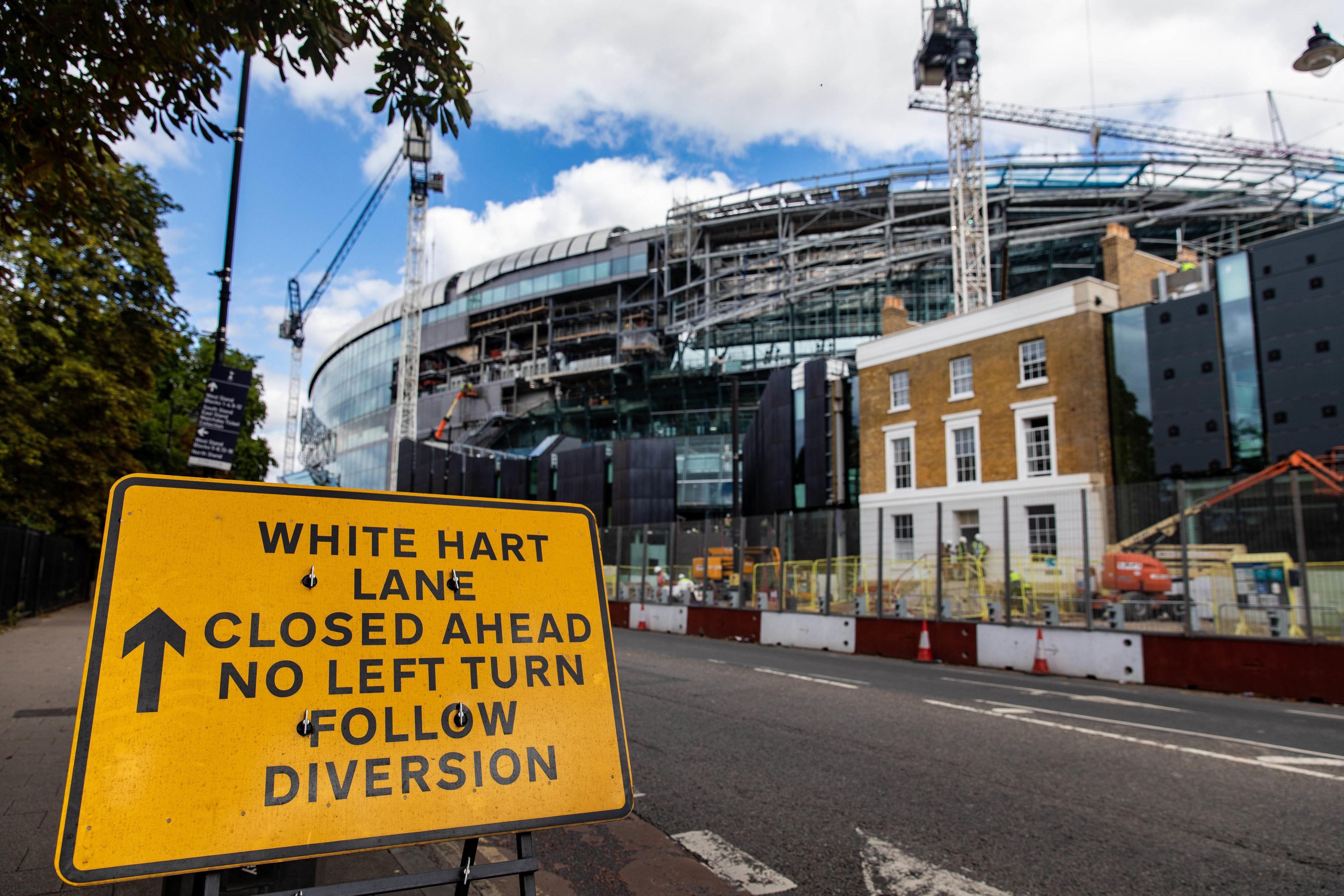 The opening of Tottenham's new stadium was delayed due to dodgy electrical wiring