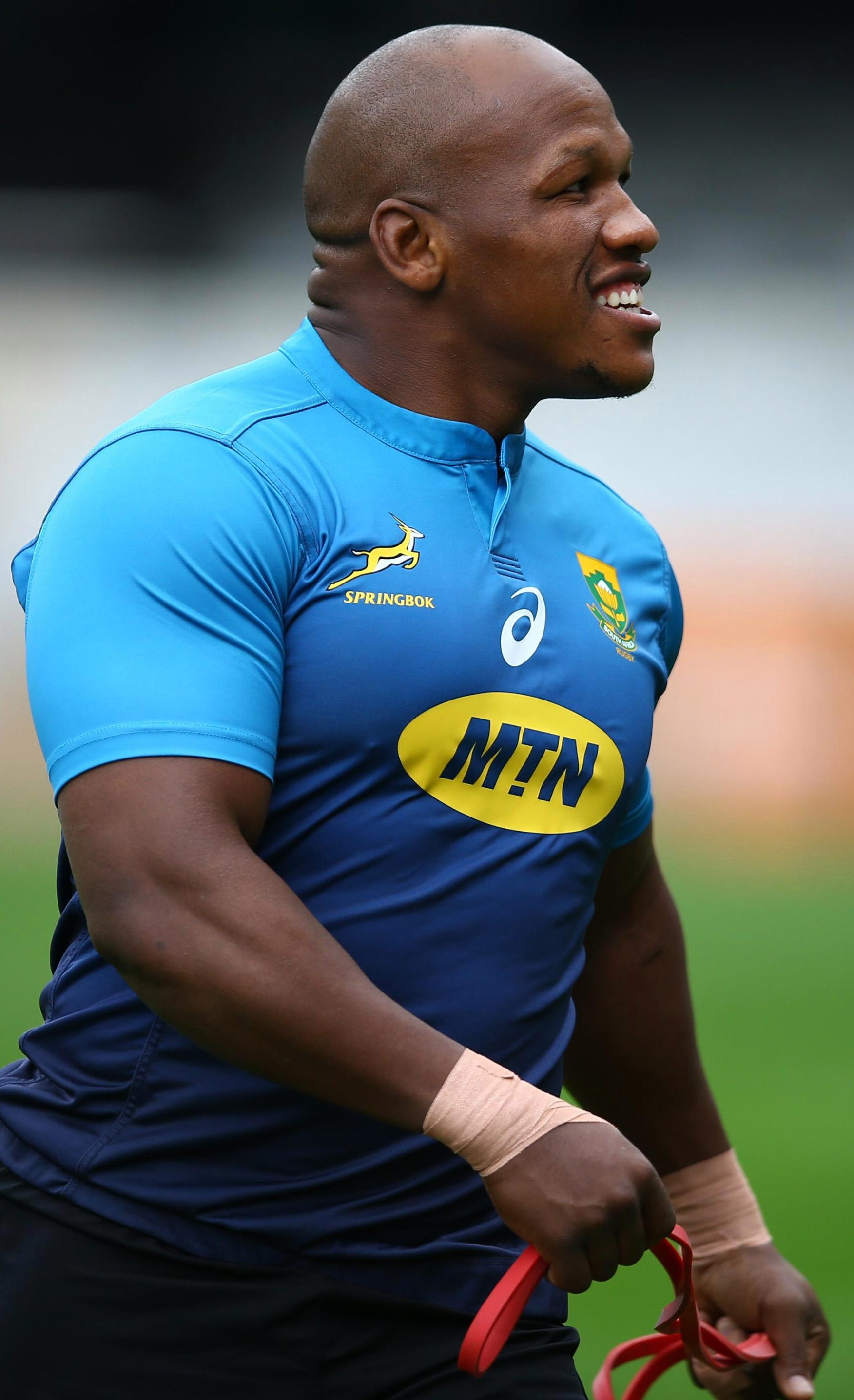 Bongi Mbonambi will also face the Wallabies in Brisbane