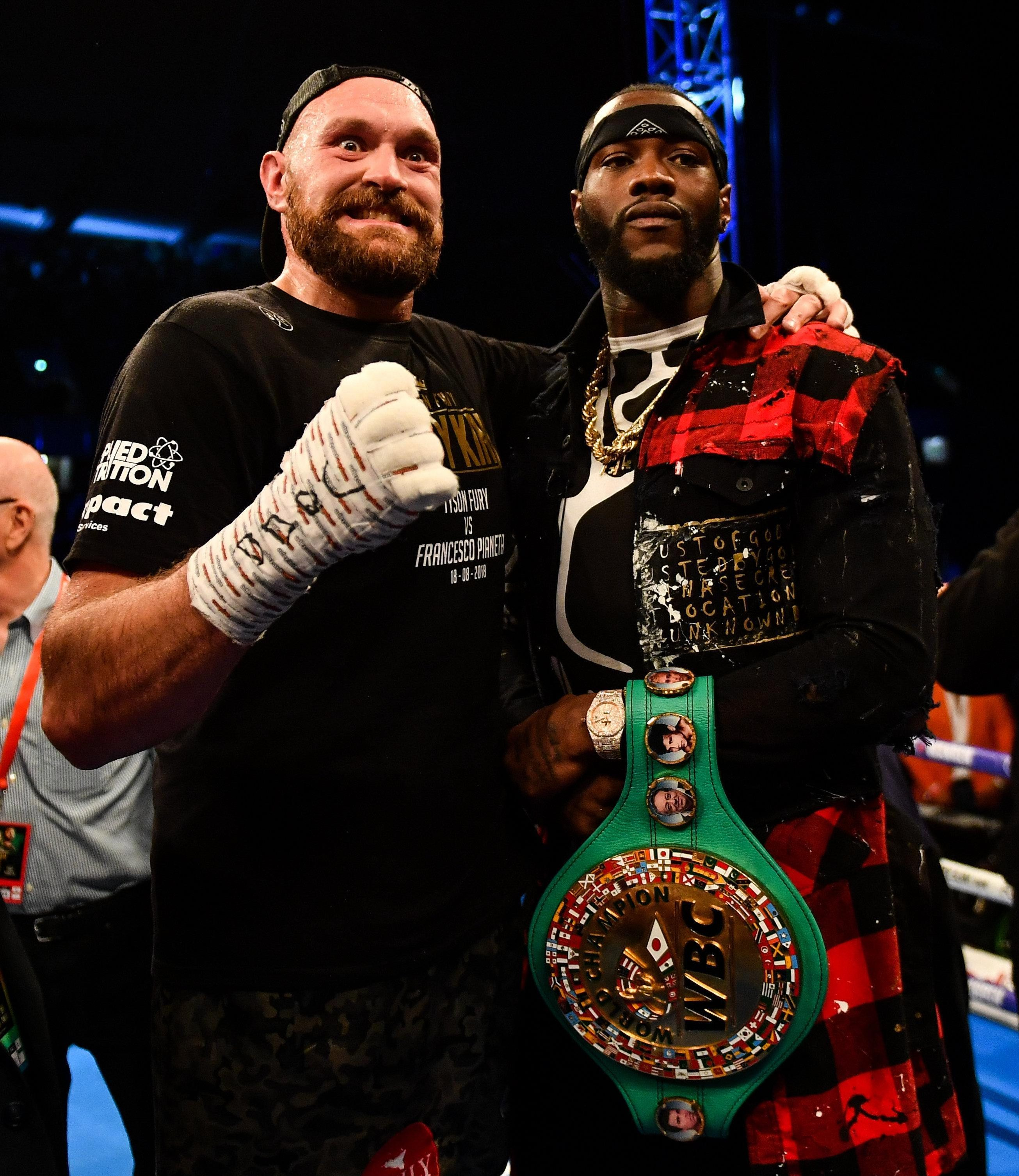 The Gypsy King is ready to take on Deontay Wilder for the WBC belt later this year