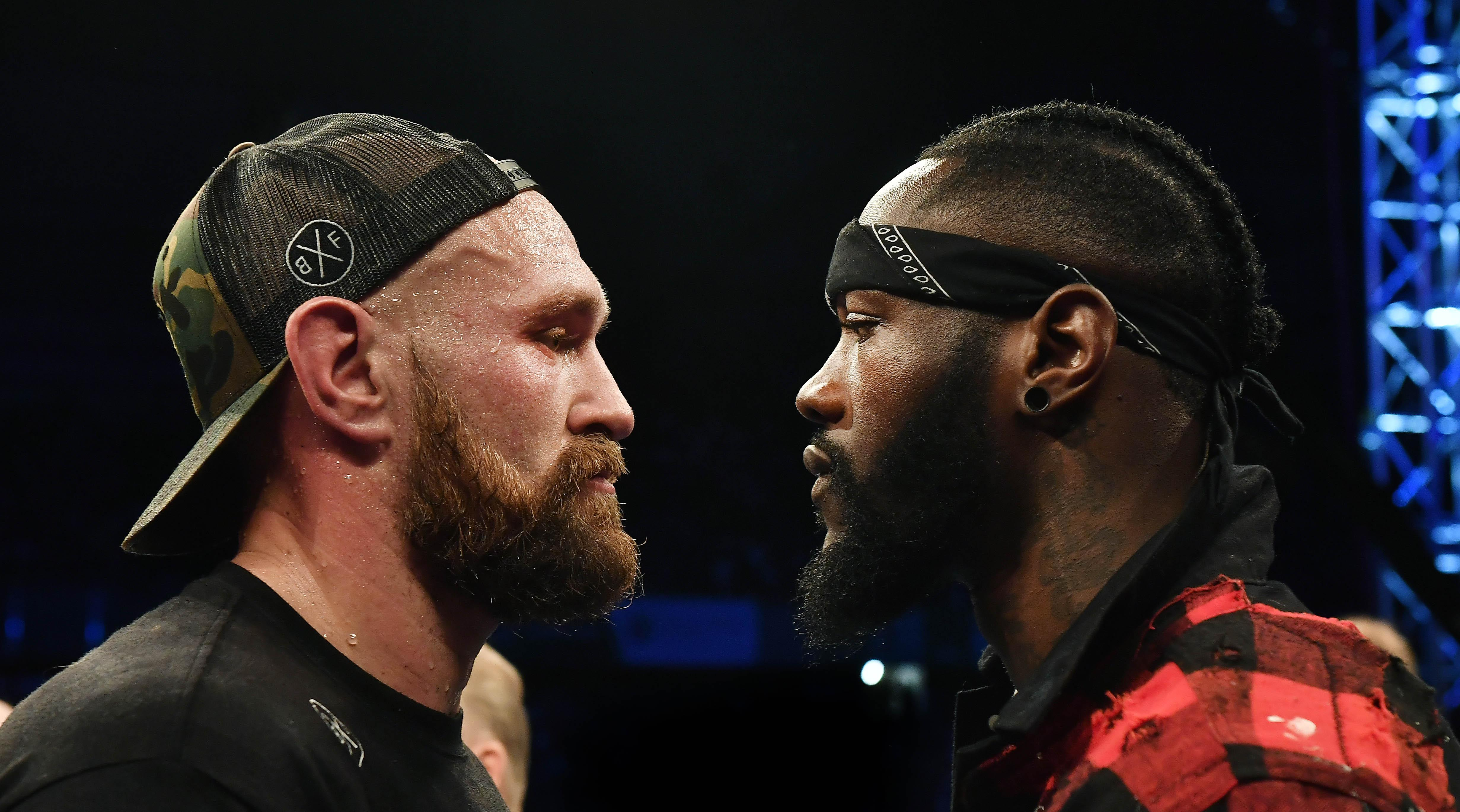 Wilder looks poised to take on Tyson Fury in his next outing in December