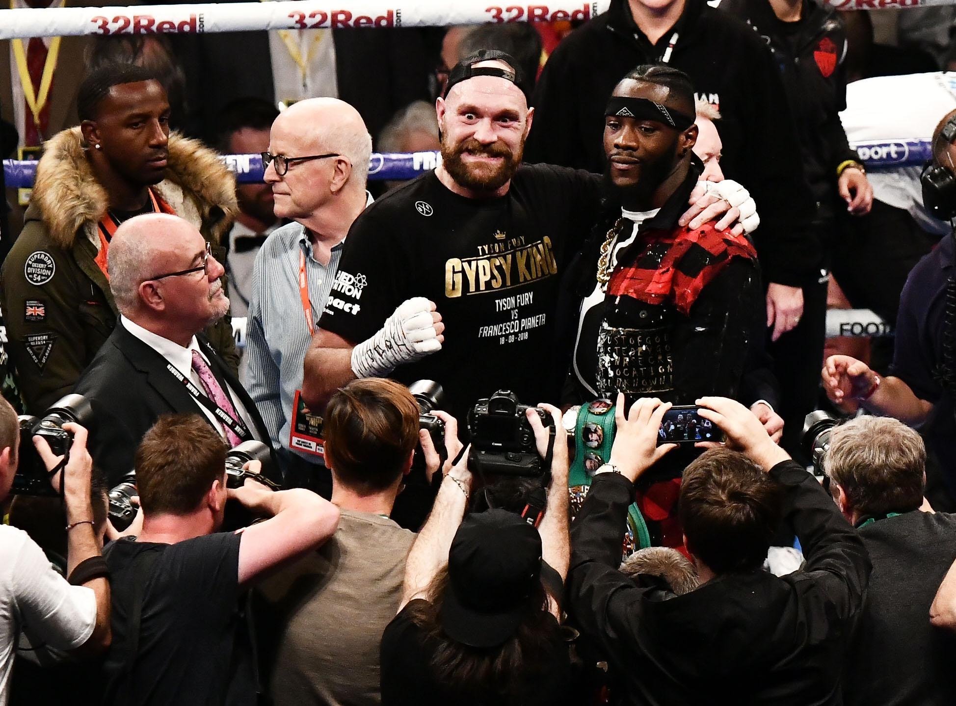 Tyson Fury will fight Deontay Wilder in December