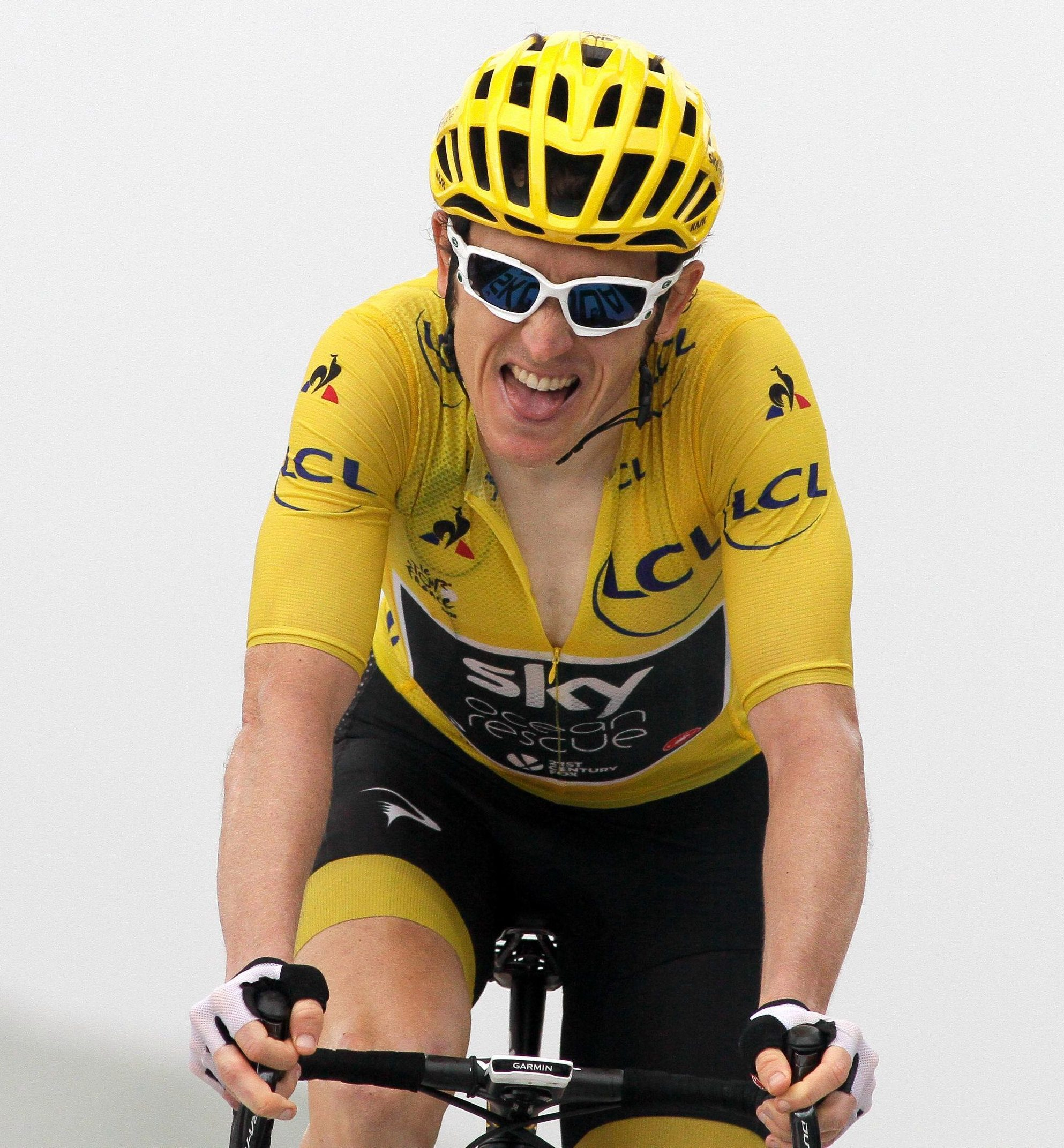 Two-time Olympic gold medallist Geraint Thomas has burst out of the shadow of Team Sky's fellow British rider Chris Froome