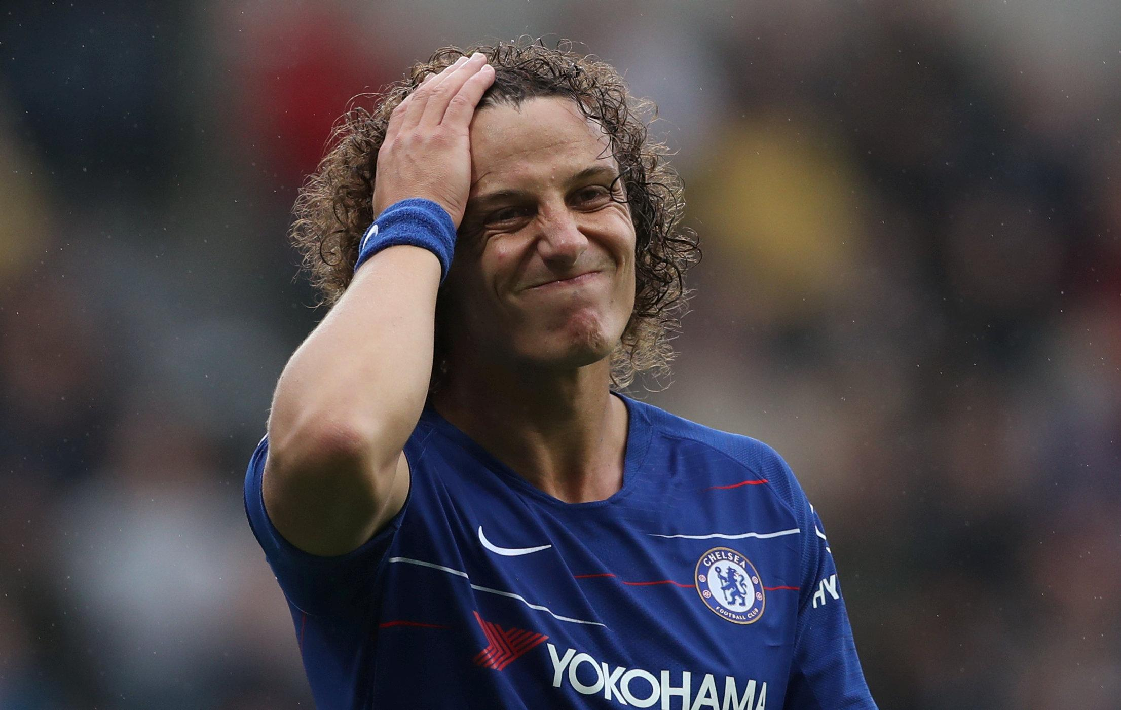 Brazil ace David Luiz has less than 12 months left on his current deal