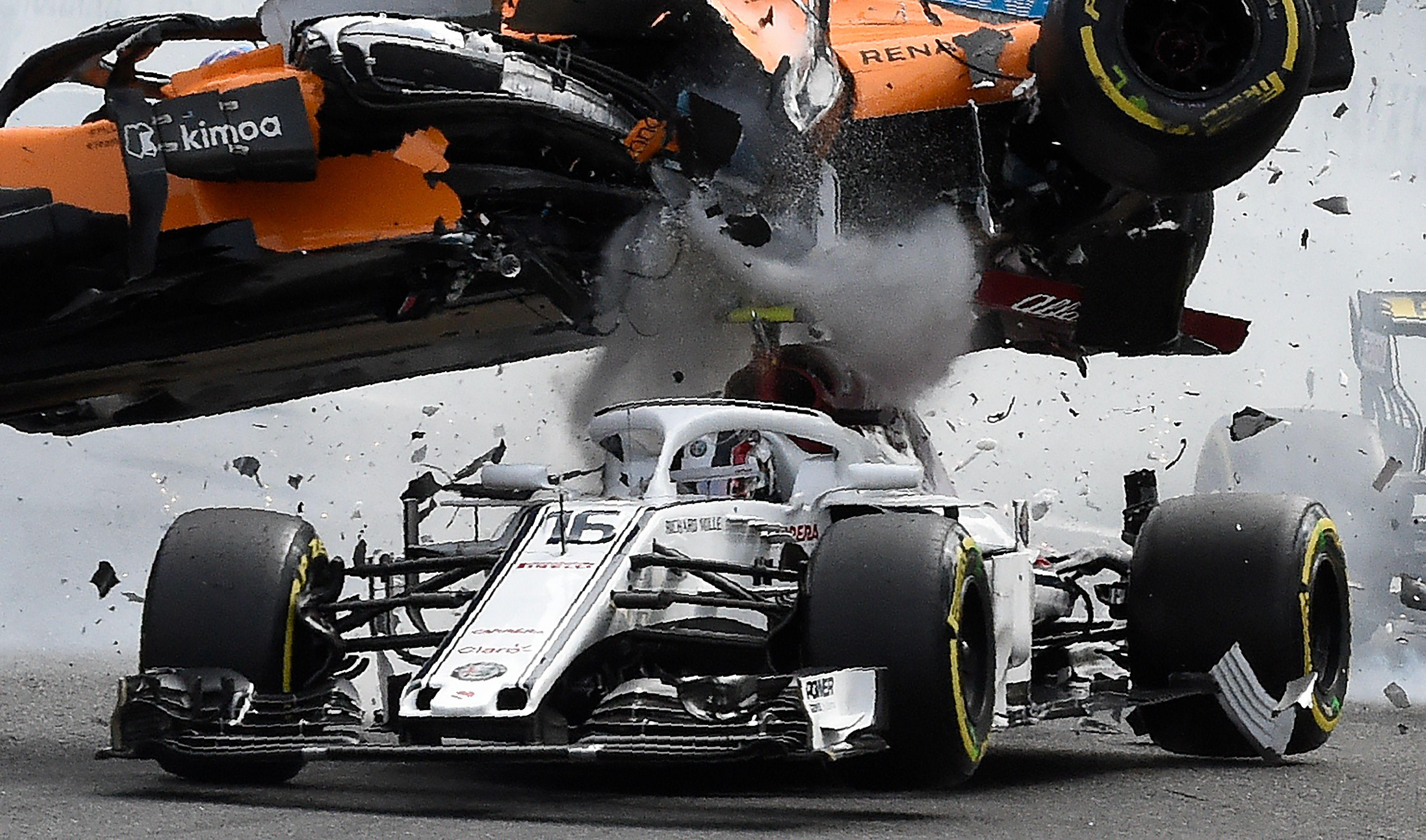 The controversial halo system saved Charles Leclerc from serious injury in the Belgian GP