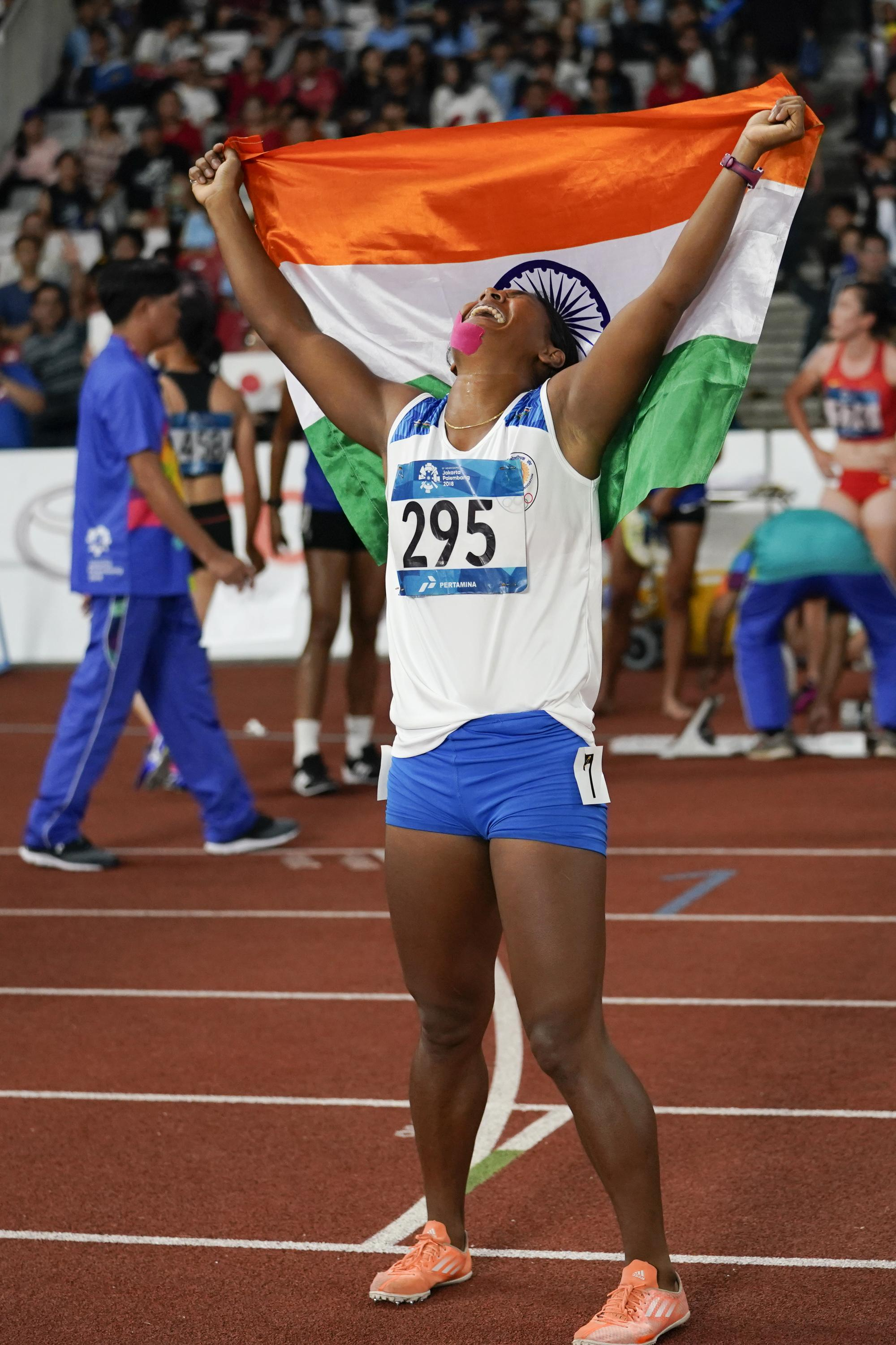 Swapna Barman from India won the regional Olympics last week