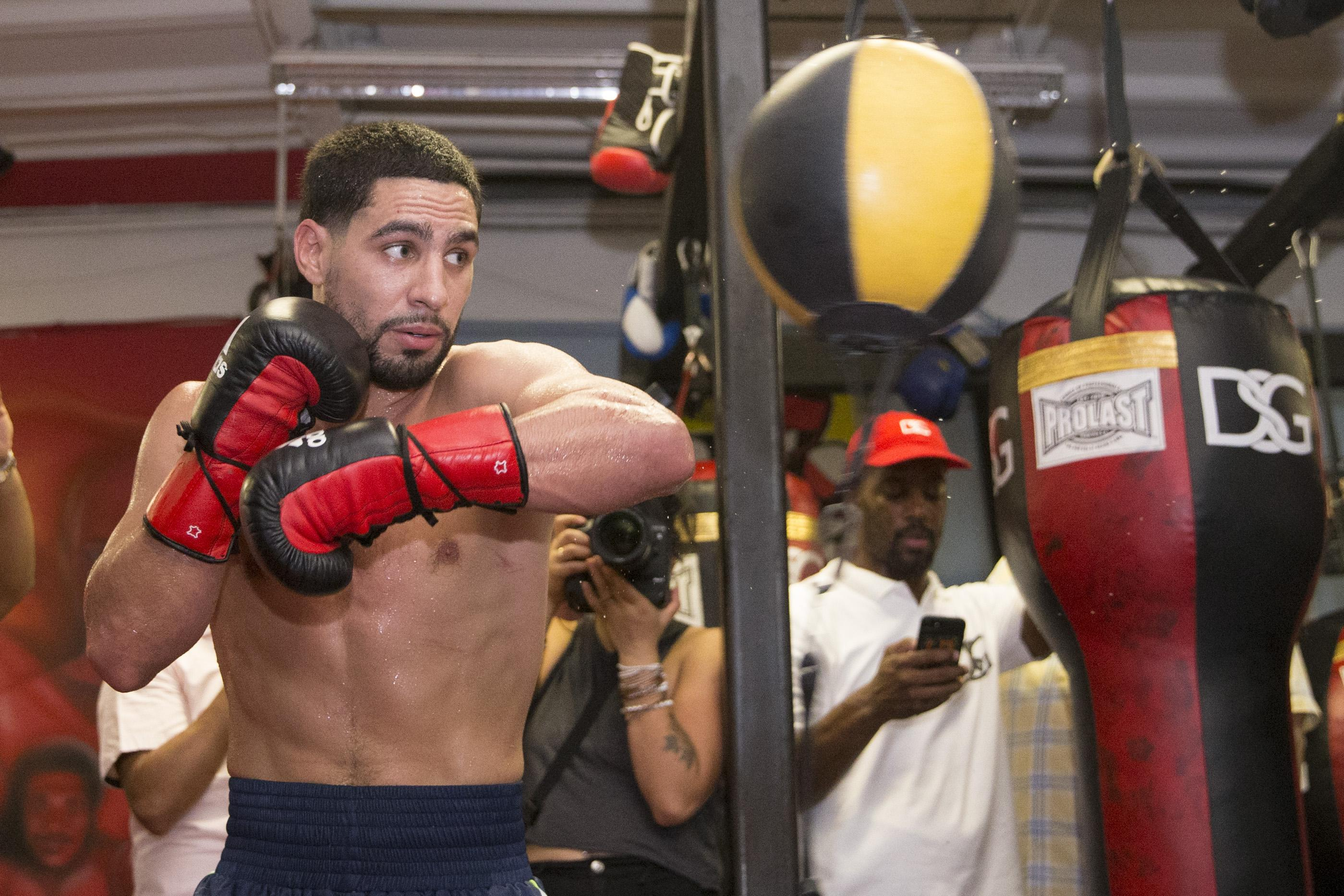 Garcia is a two-weight world champion and has one loss in 35 fights