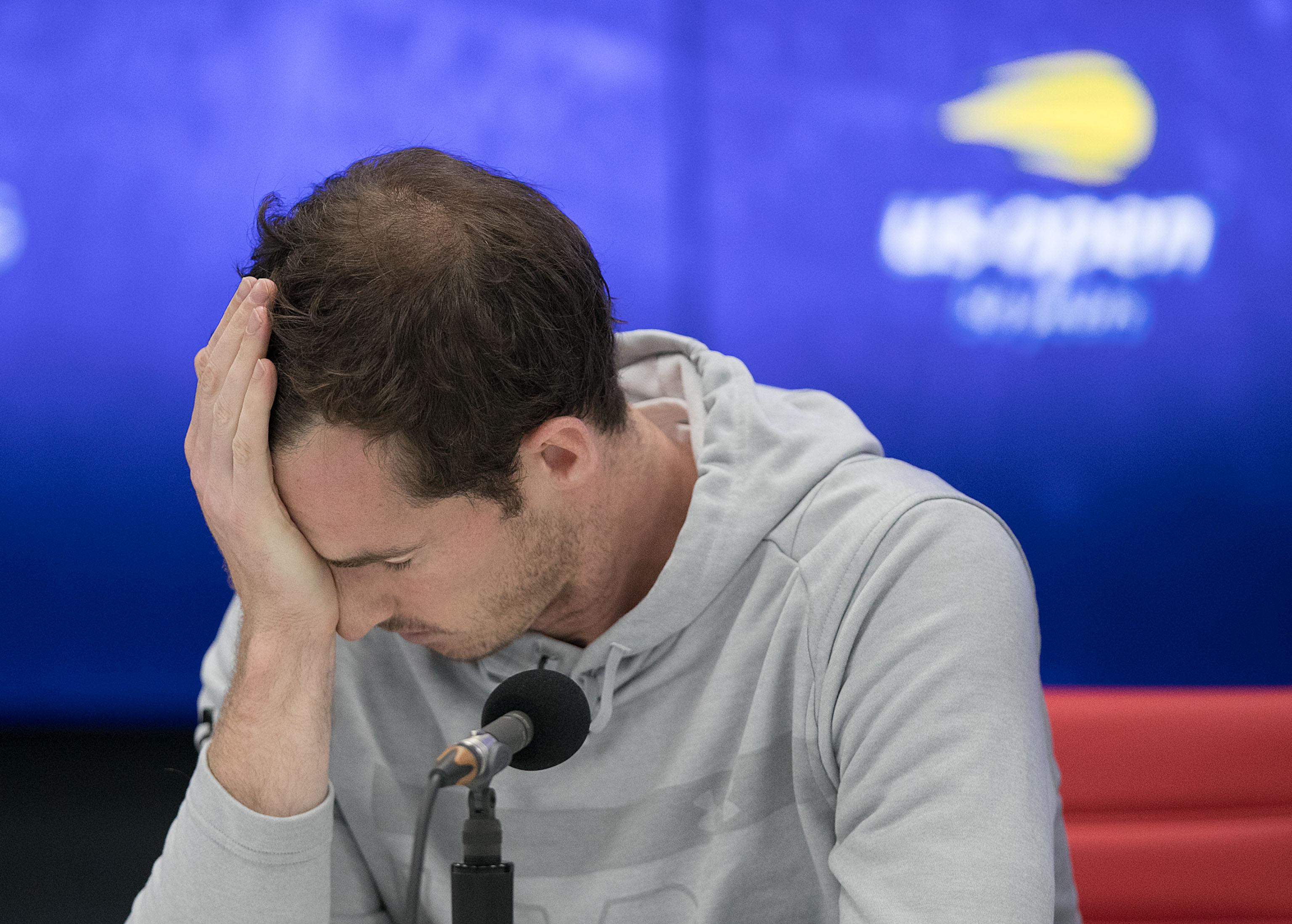 Andy Murray has had a tough go of things trying to get back from injury
