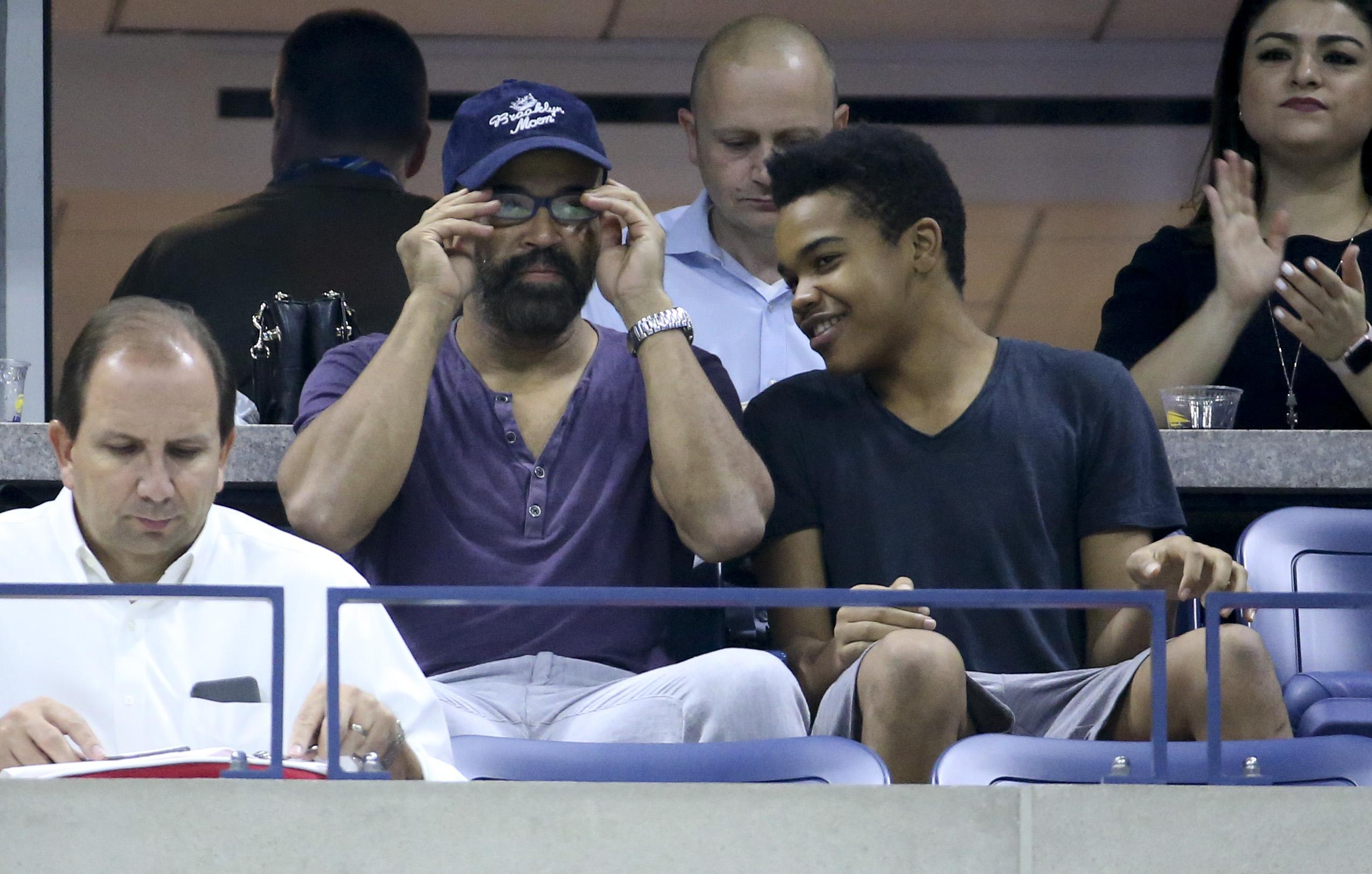 Westworld actor Jeffrey Wright also watched the action