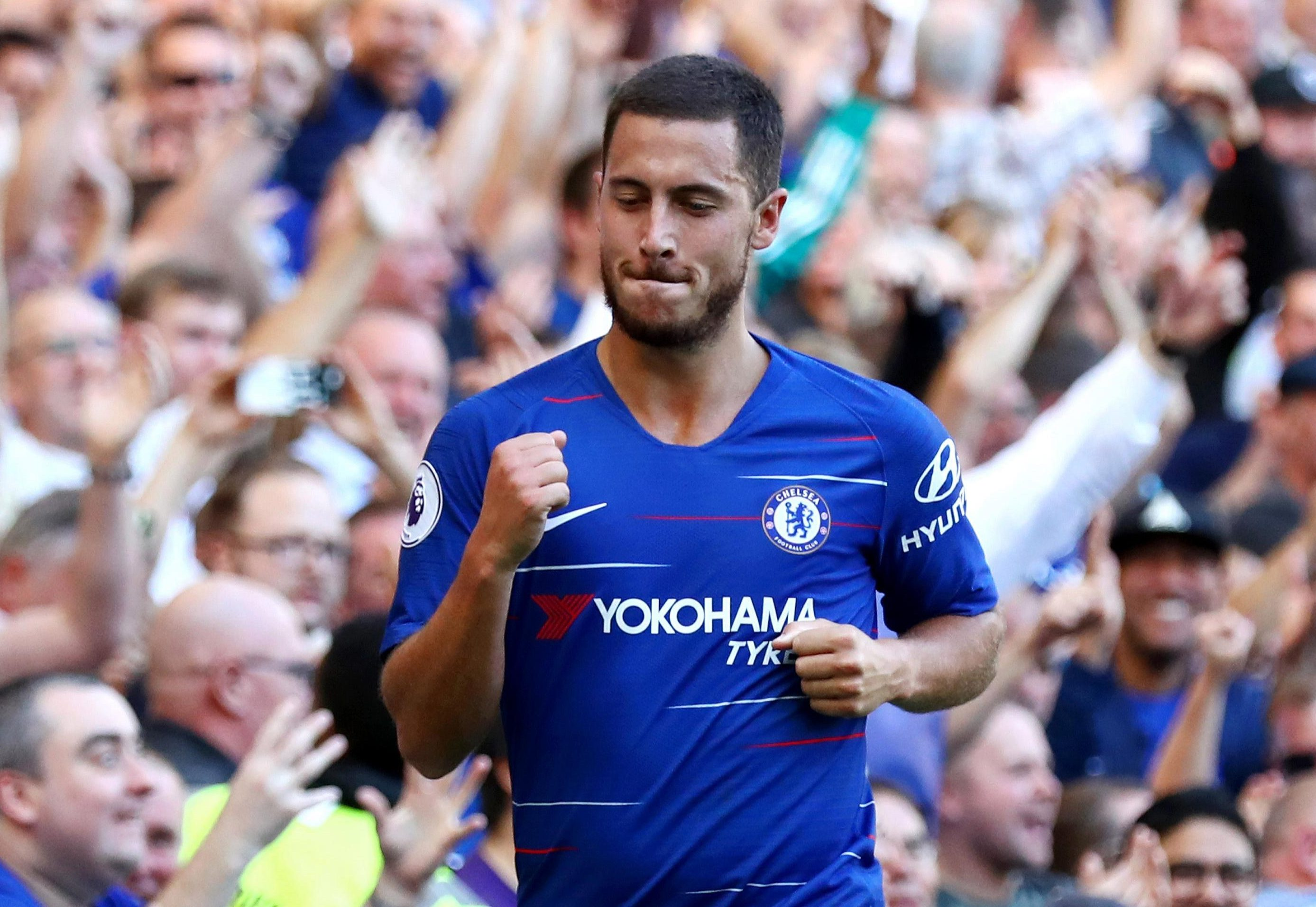 Eden Hazard decided to stay at Chelsea... for now