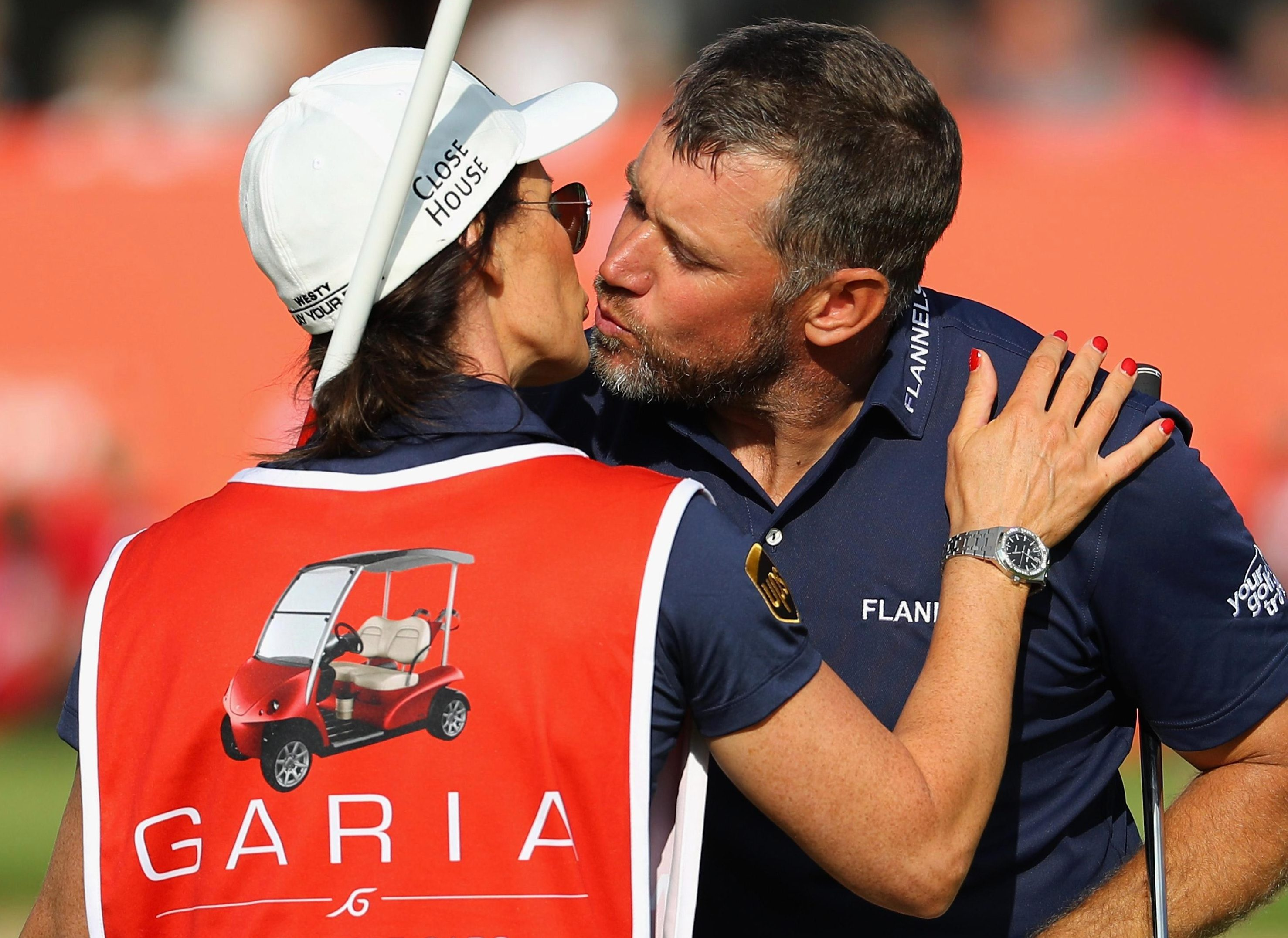 Westwood gave his usual caddy the week off in Denmark, replacing him with Helen Storey in September