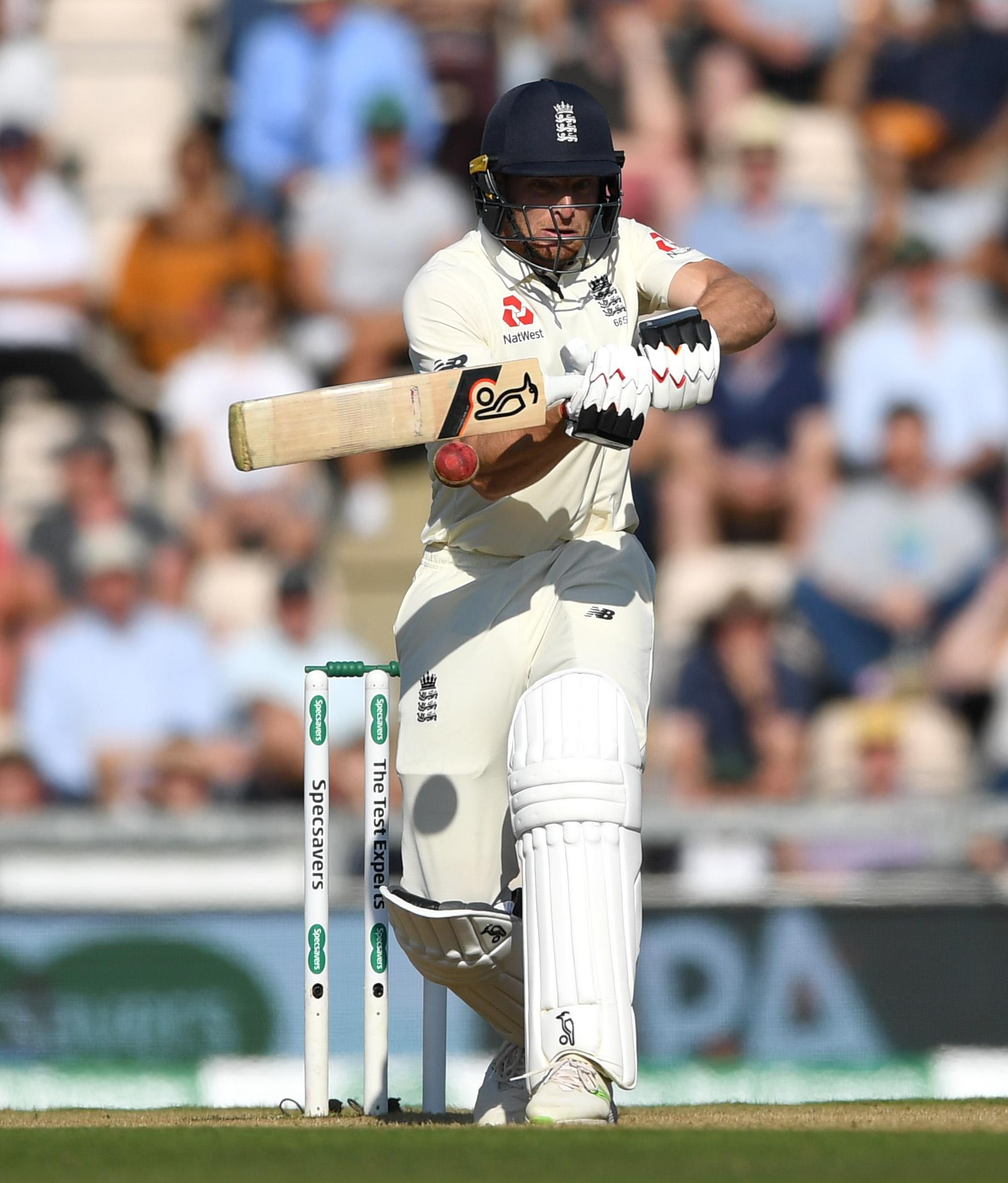 Jos Buttler played superbly for his 69 at the Ageas Bowl