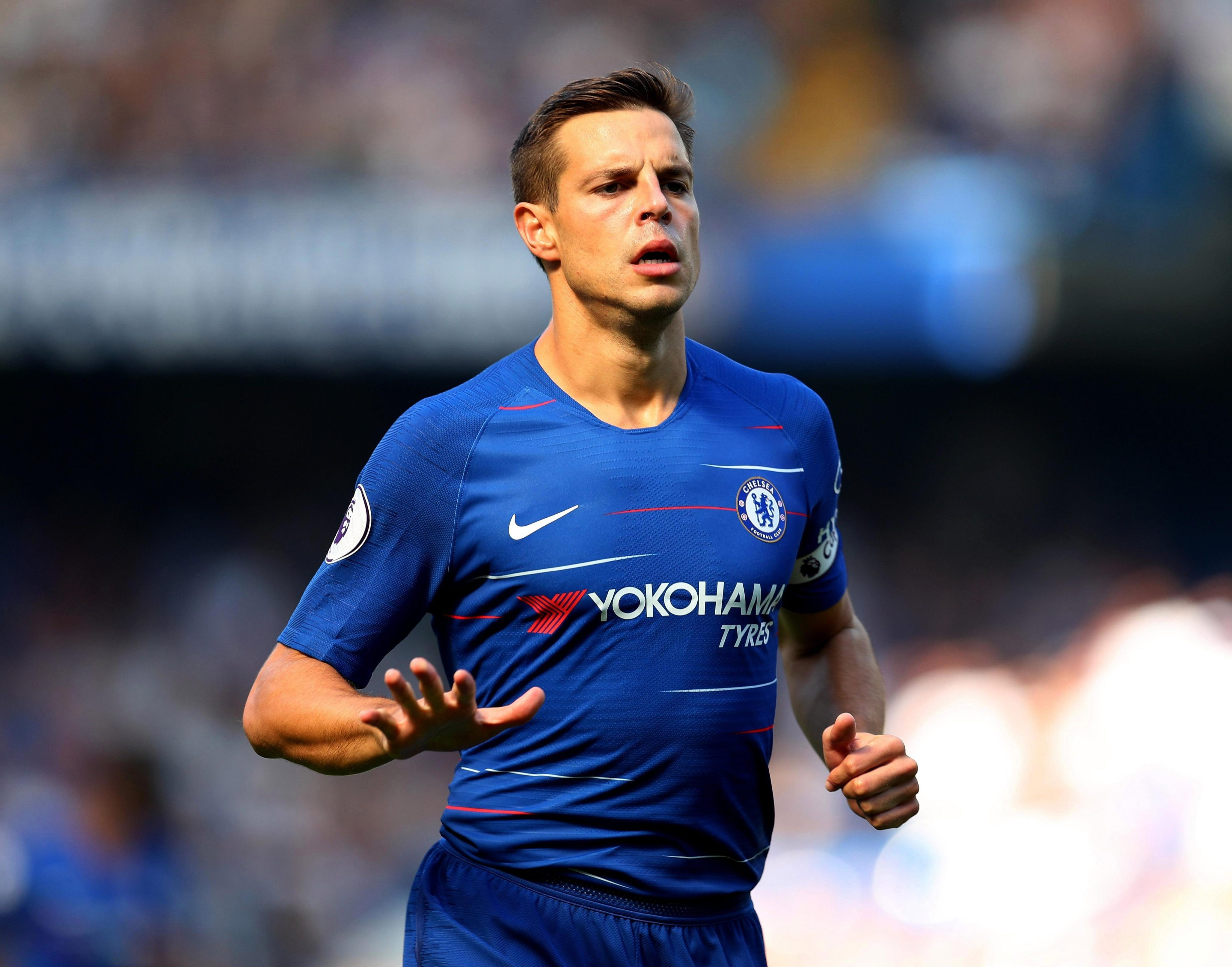 Cesar Azpilicueta is another play whose future remains uncertain