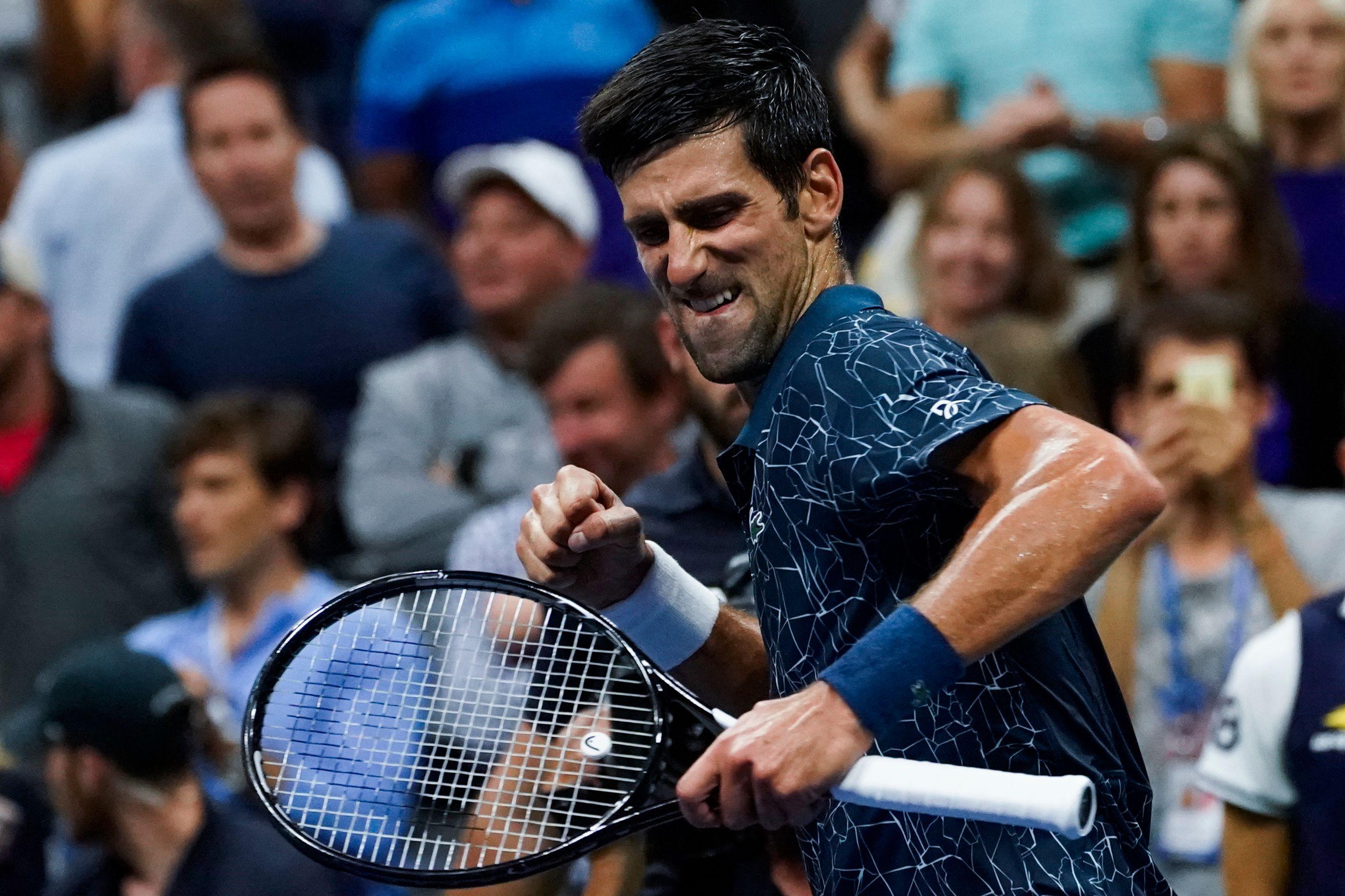 Novak Djokovic impressed in a straight sets victory over Richard Gasquet