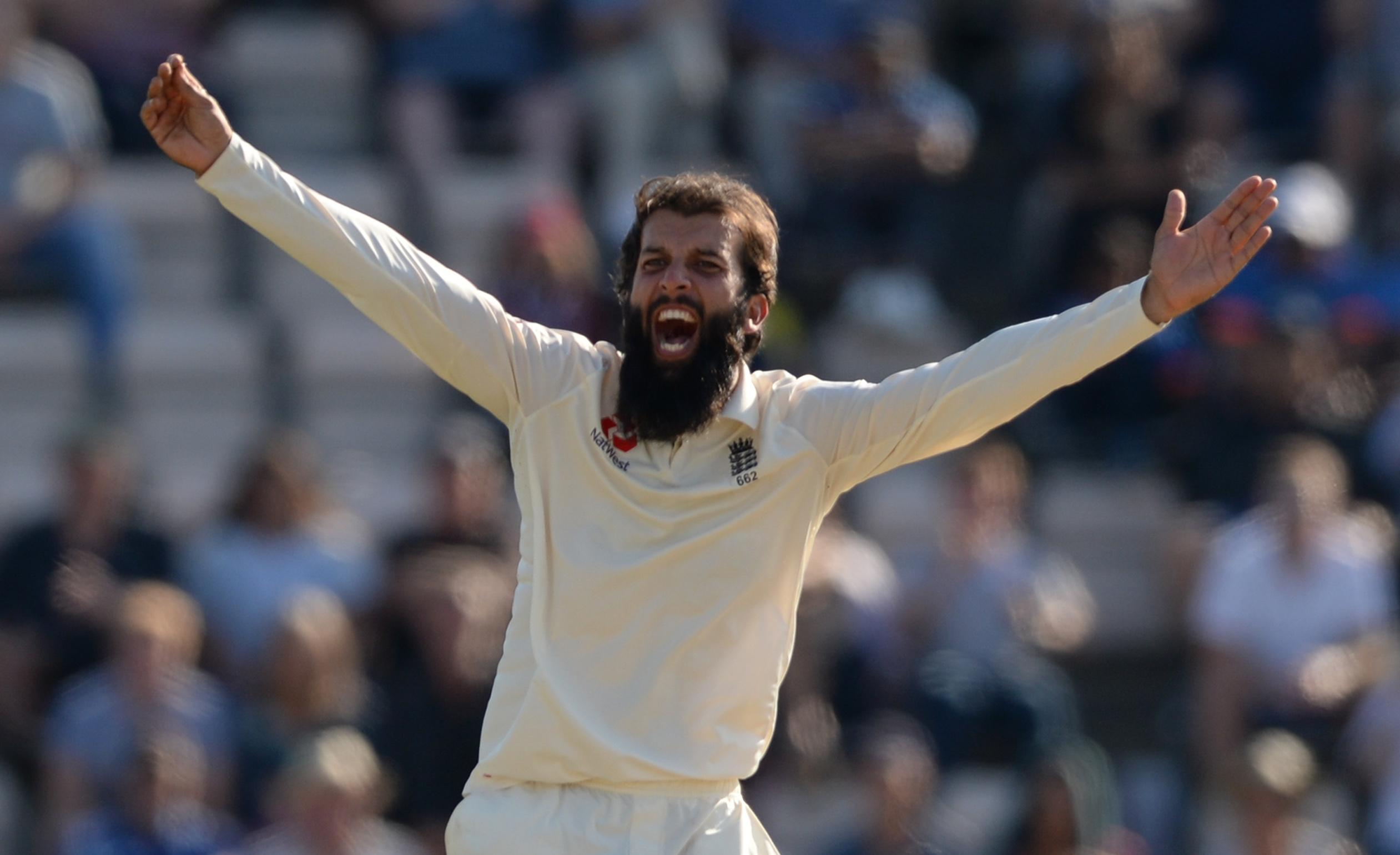 Moeen was named Man of the Match at the Ageas Bowl as England clinched the series