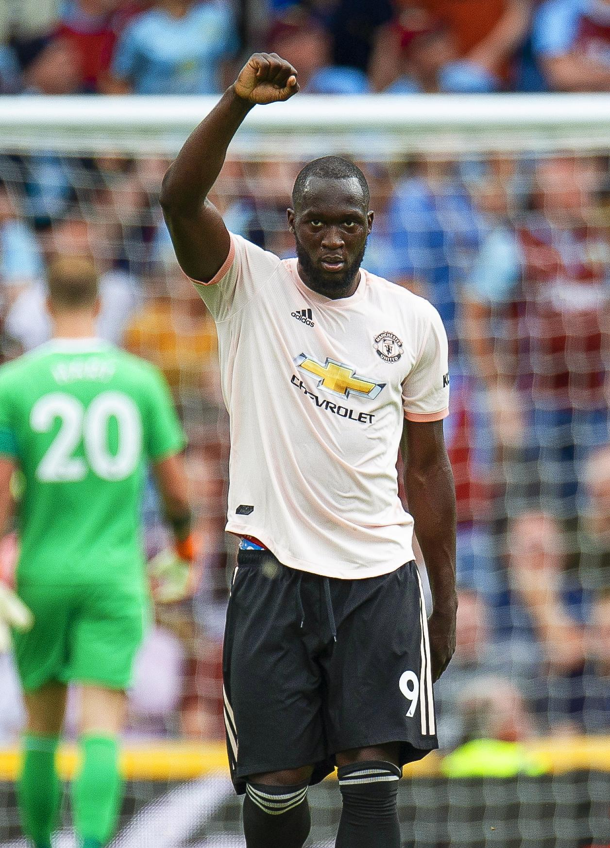 Romelu Lukaku fired Manchester United to a much-needed win at Burnley