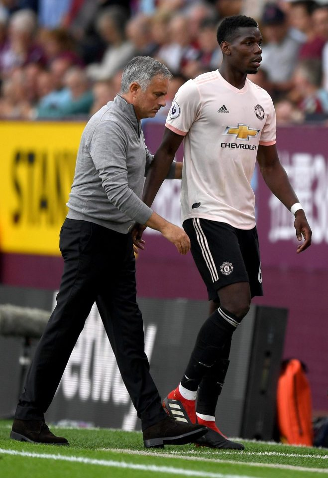 The relationship between Jose Mourinho and Paul Pogba has appeared strained at times